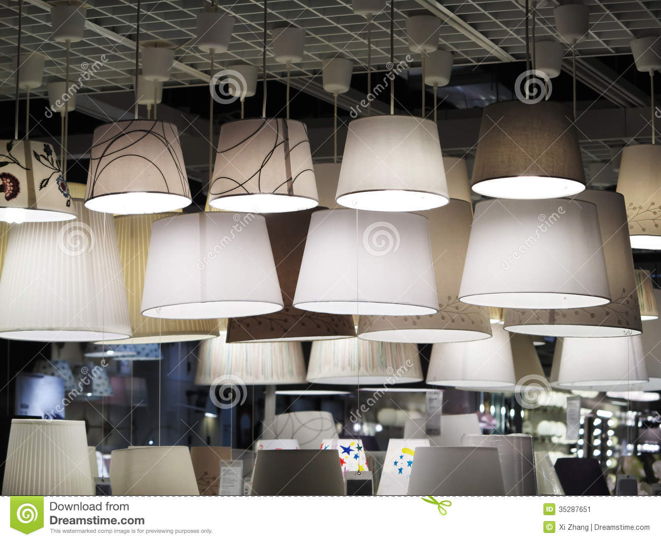Lighting Store Stock Image Image Of House Light Shopping 35287651