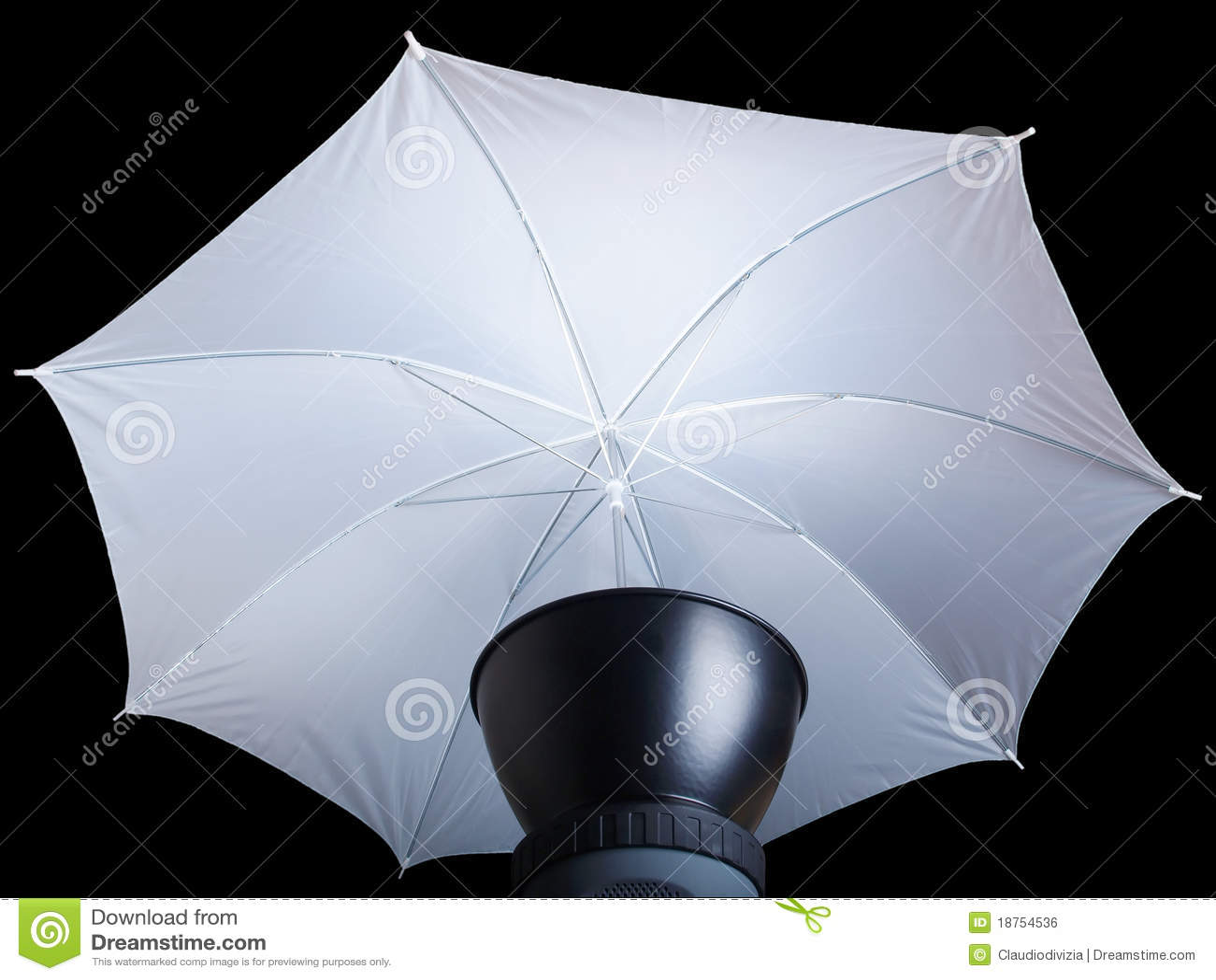 how to use studio umbrella lights