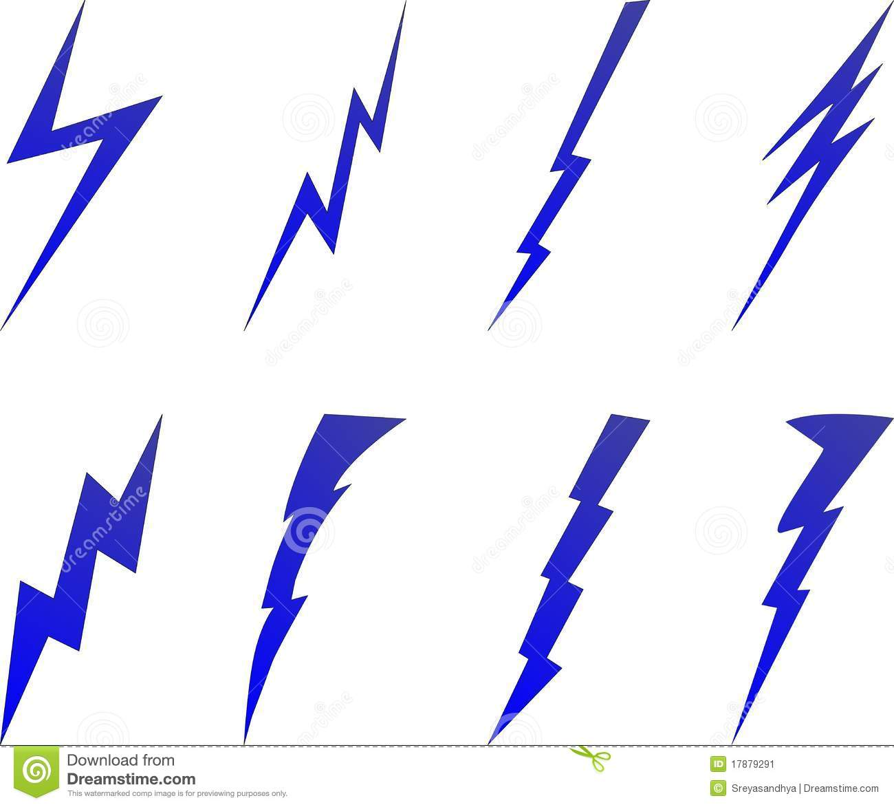 Lightning bolt symbols stock illustration. Illustration of ... for Vector Lighting Bolt  156eri