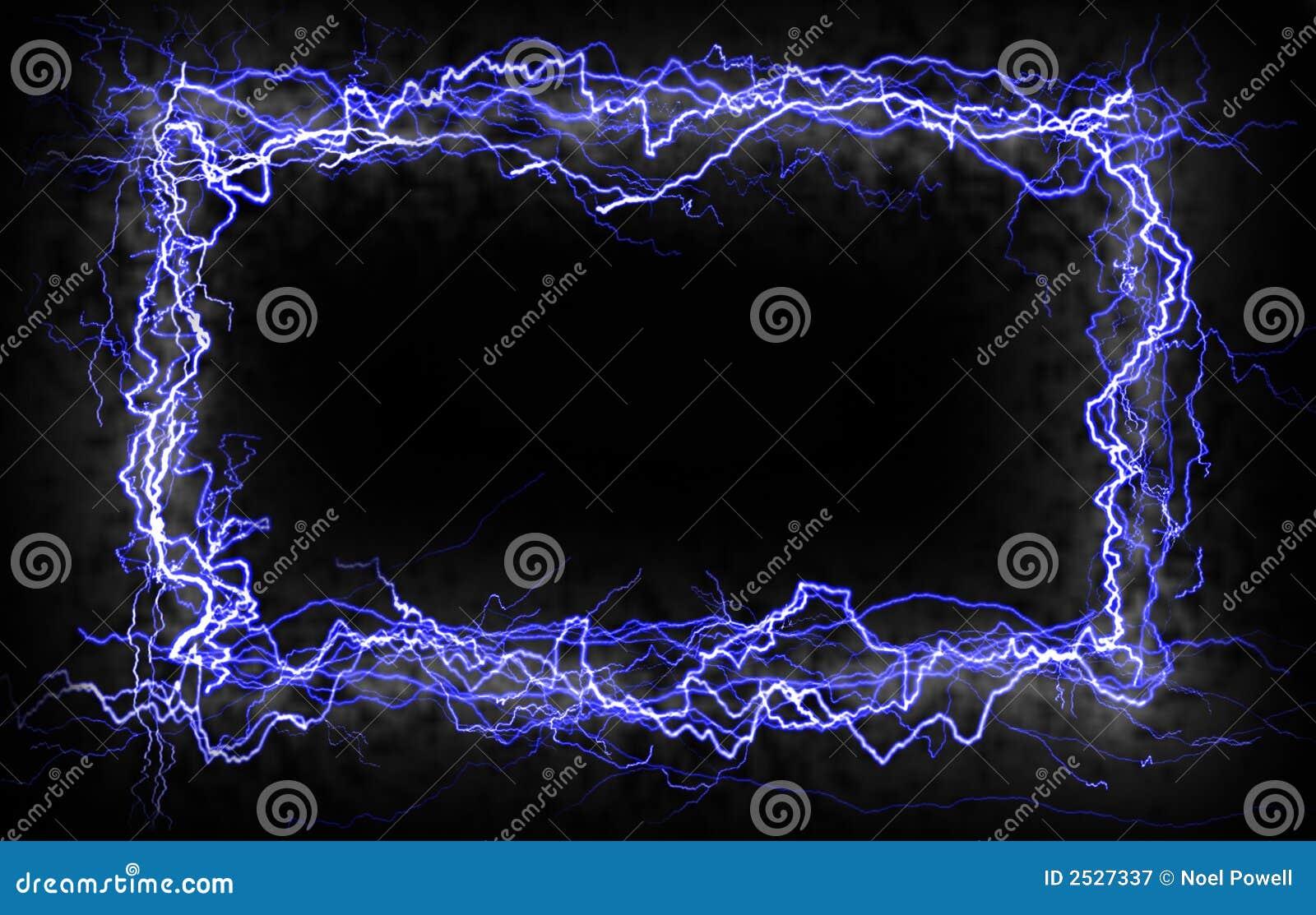 Lightning Border Royalty Free Stock Photography Image