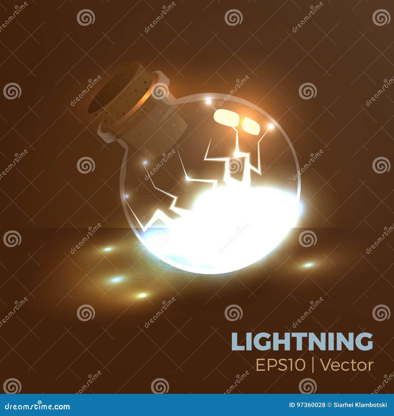 Lightning in bottle