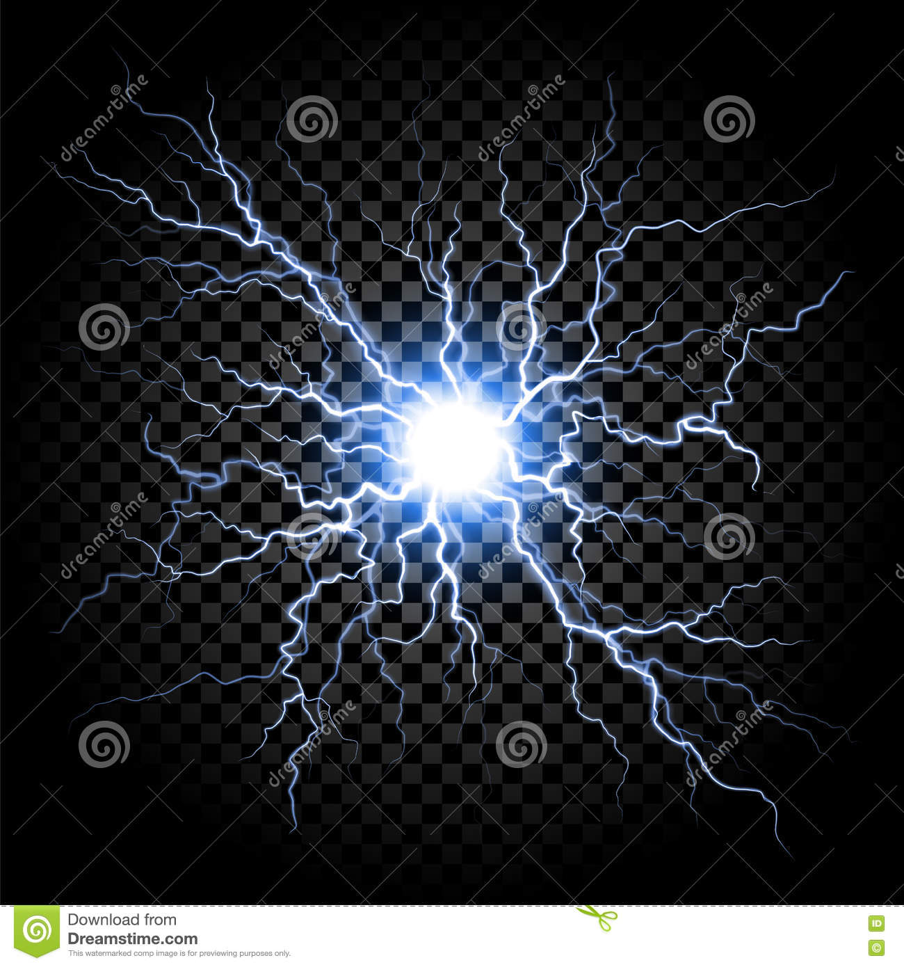 lightning flash light thunder on transparent background stock vector illustration of neural isolated 82174592 dreamstime com
