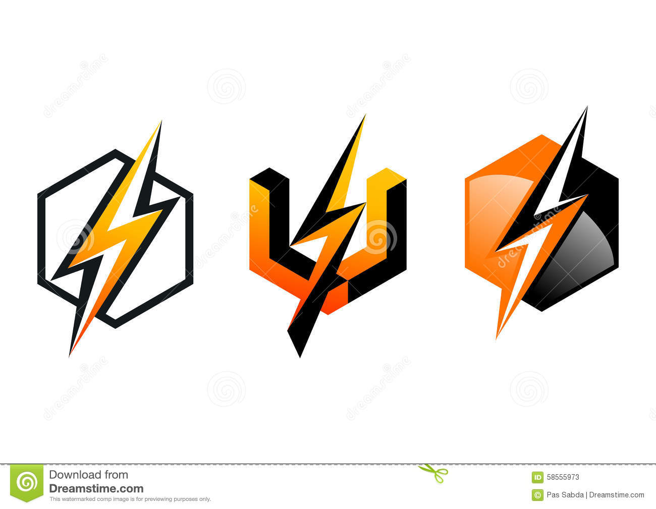 Lightning,logo,symbol,thunderbolt,cube,electricity,electric,power ...