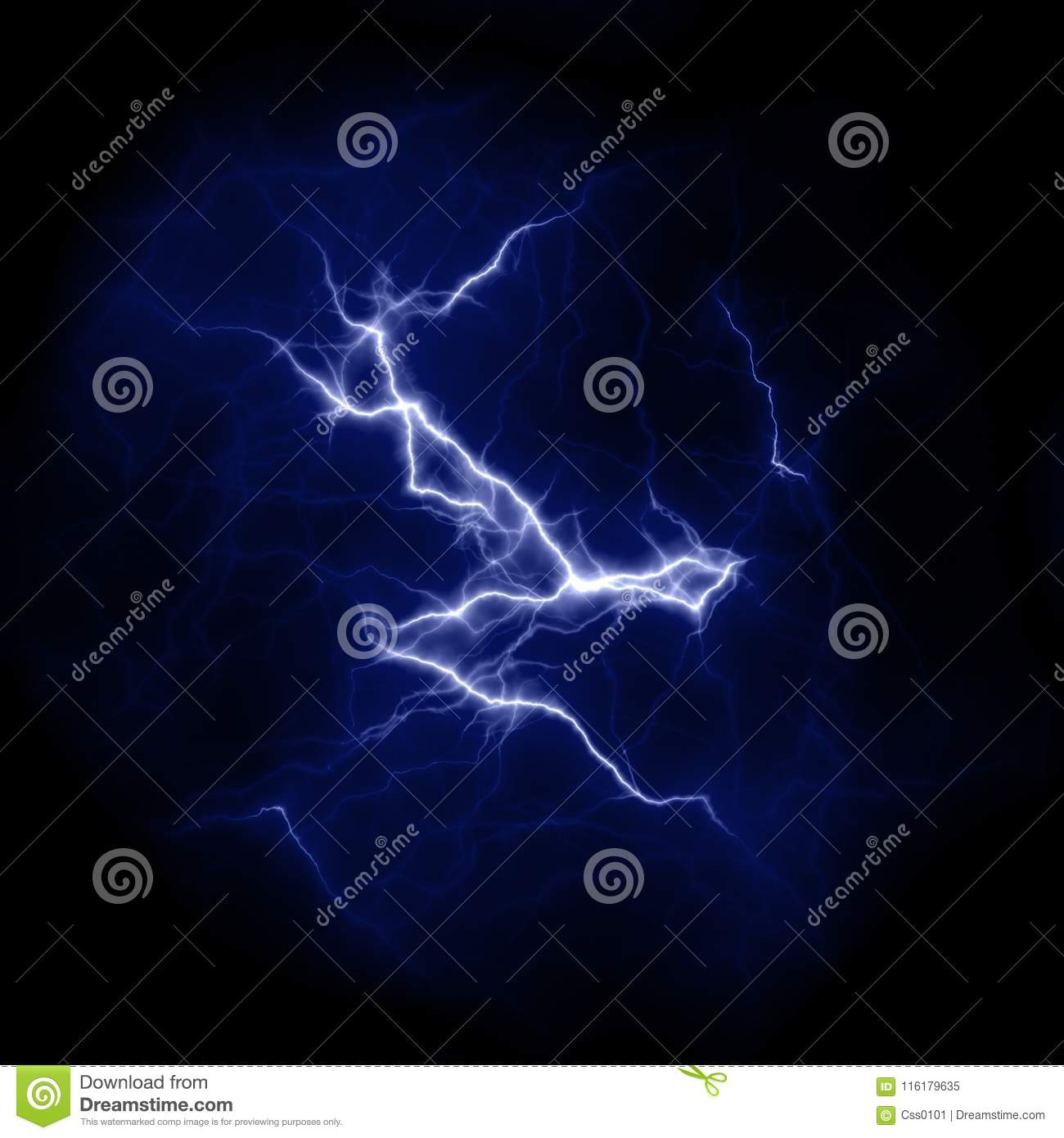 lightning template electric thunderbolt in the sky nature image