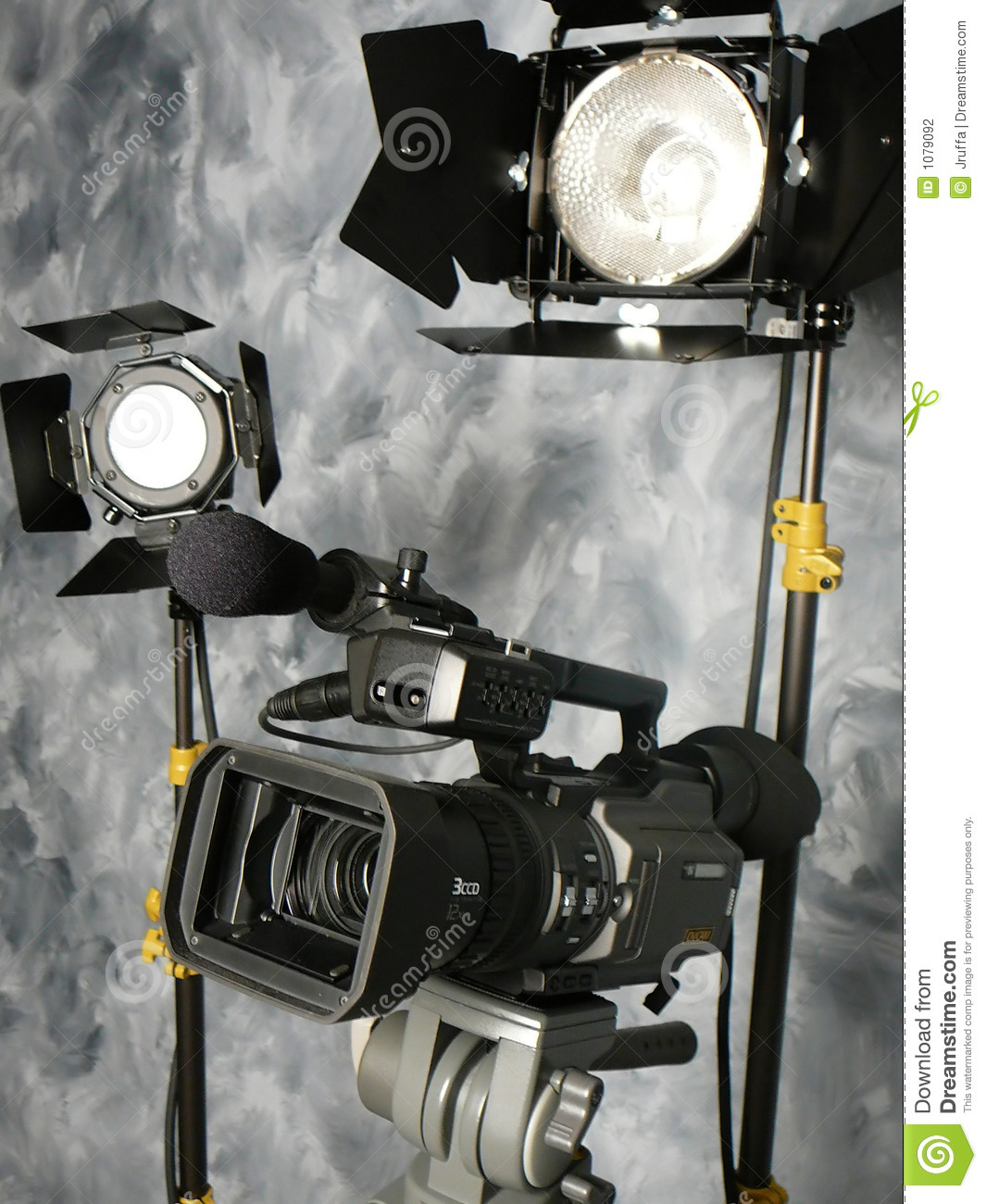 Lights Camera Action Stock Photography Image 1079092