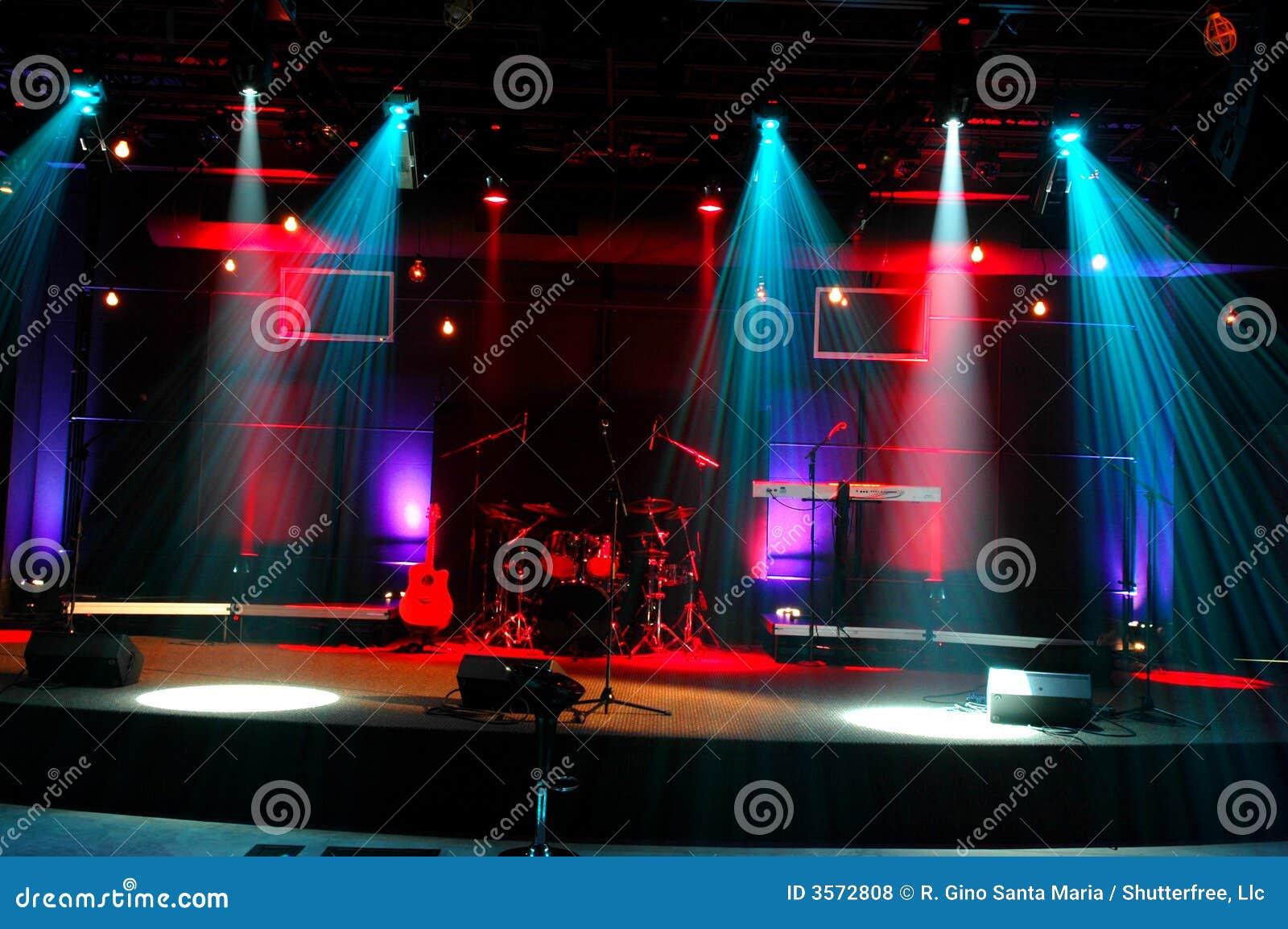 Lights stage