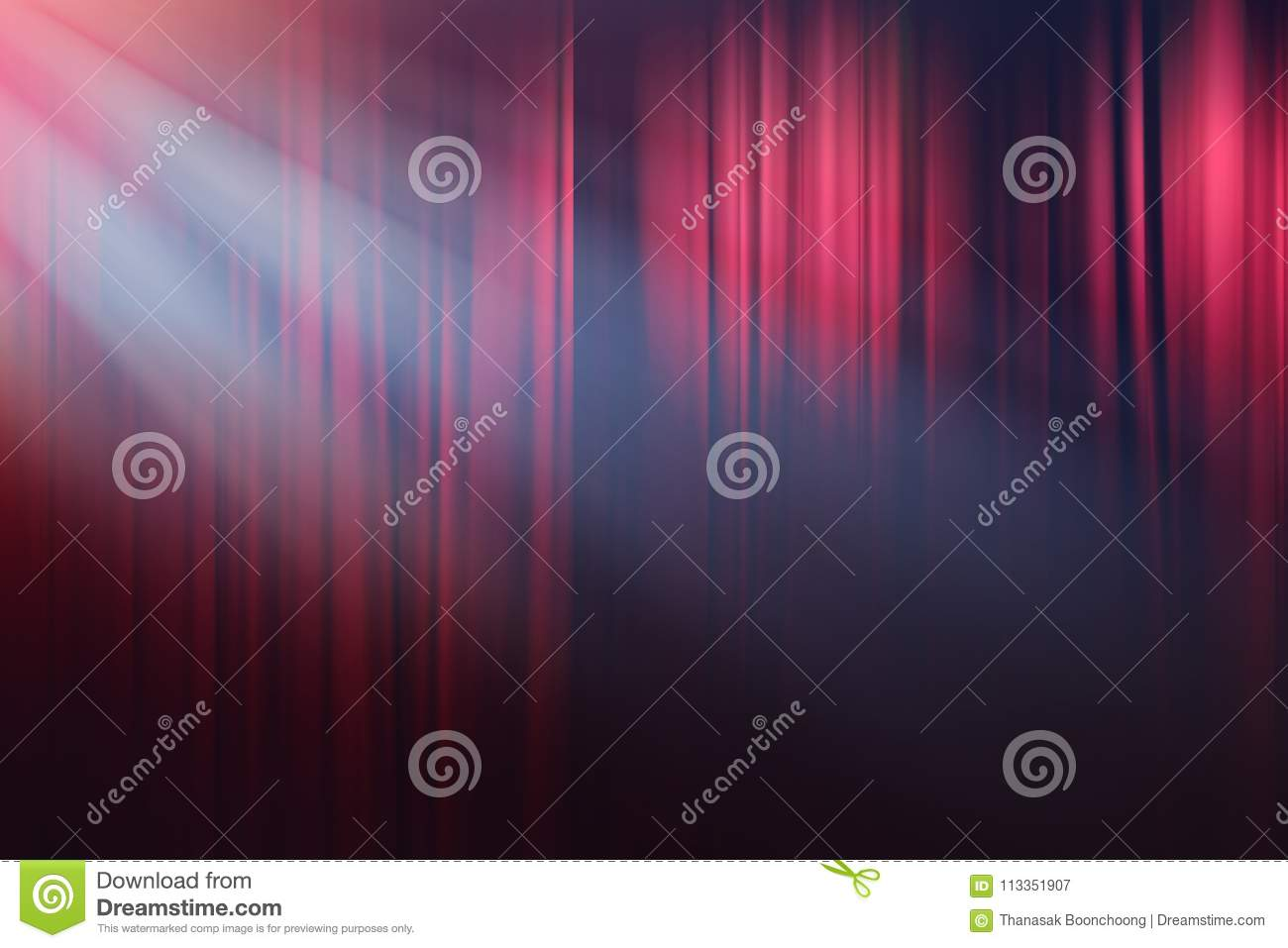 Lights on stage, drama theatre show background