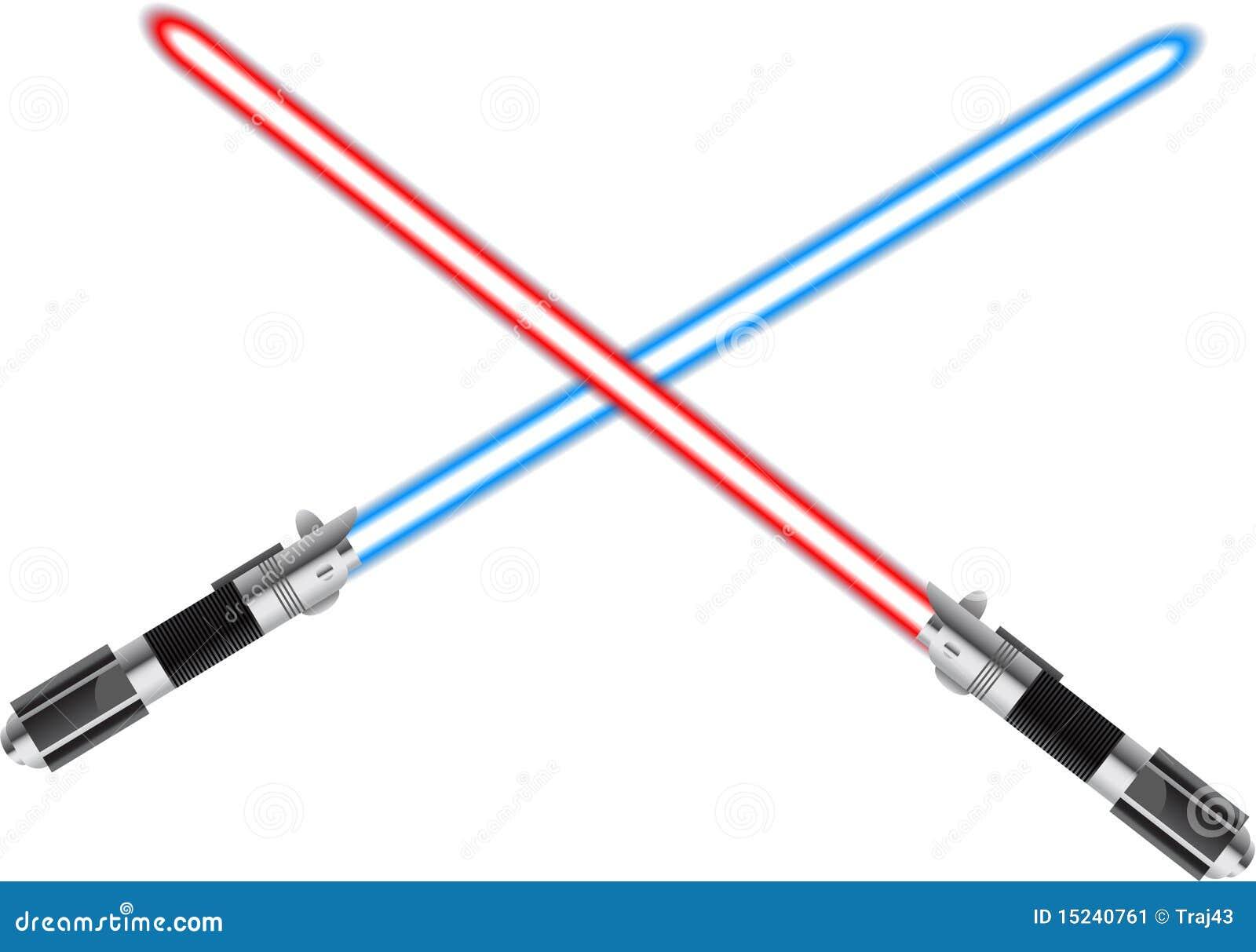 Star Wars Crossed Lightsabers