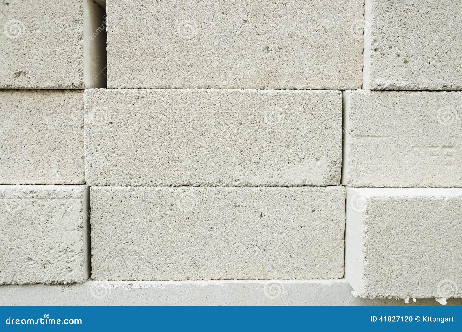 Lightweight Brick Stock Photo Image 41027120