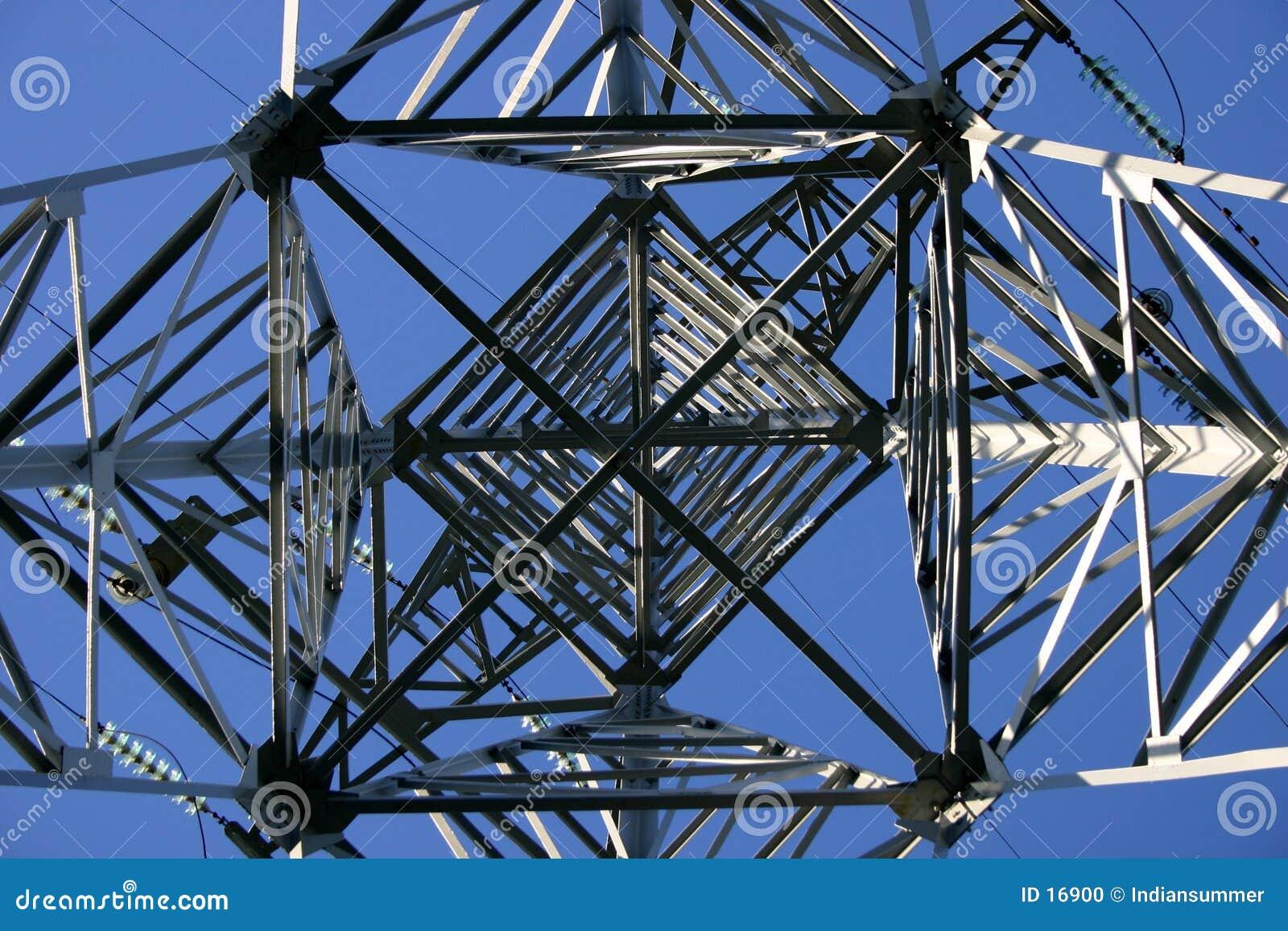 Ligne électrique, détaillée