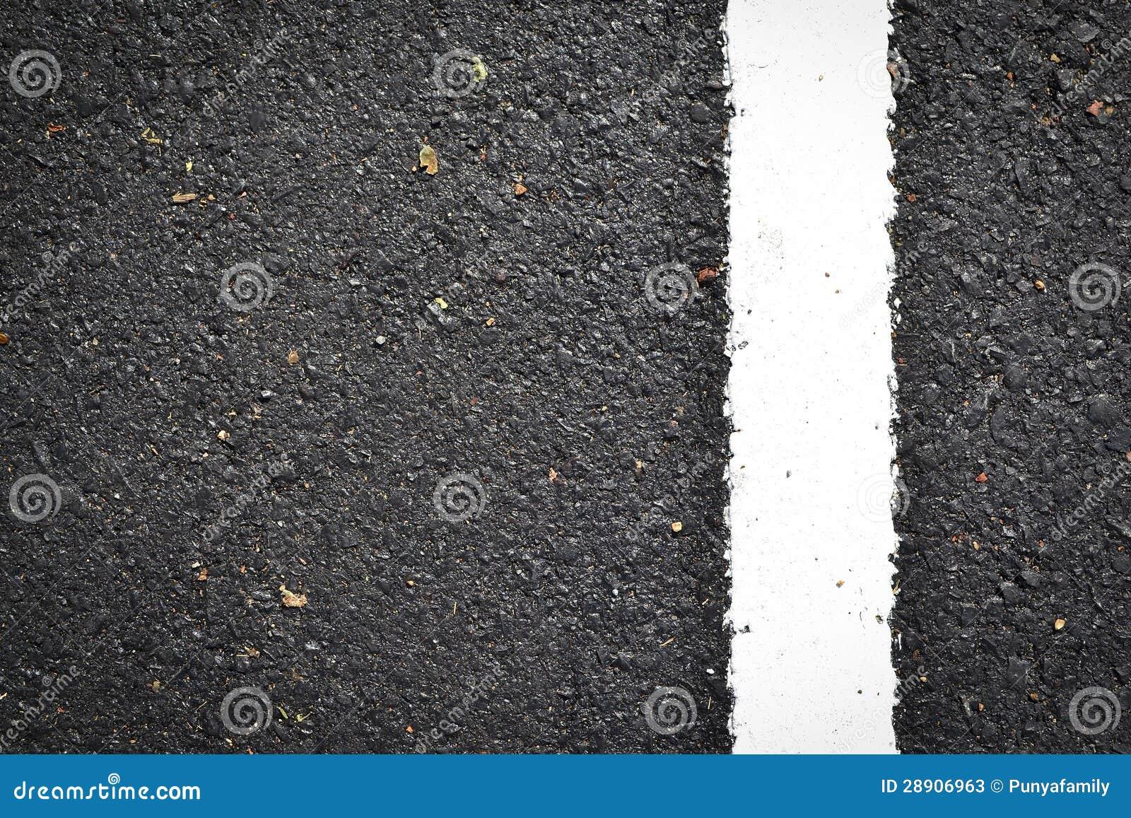 ligne blanche neuve sur la texture de route photos stock image 28906963. Black Bedroom Furniture Sets. Home Design Ideas