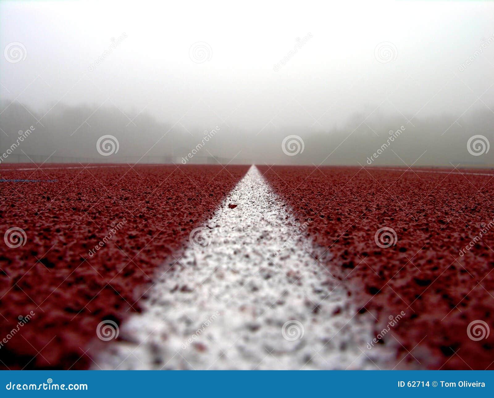 Download Ligne blanche sur #2 rouge photo stock. Image du running - 62714