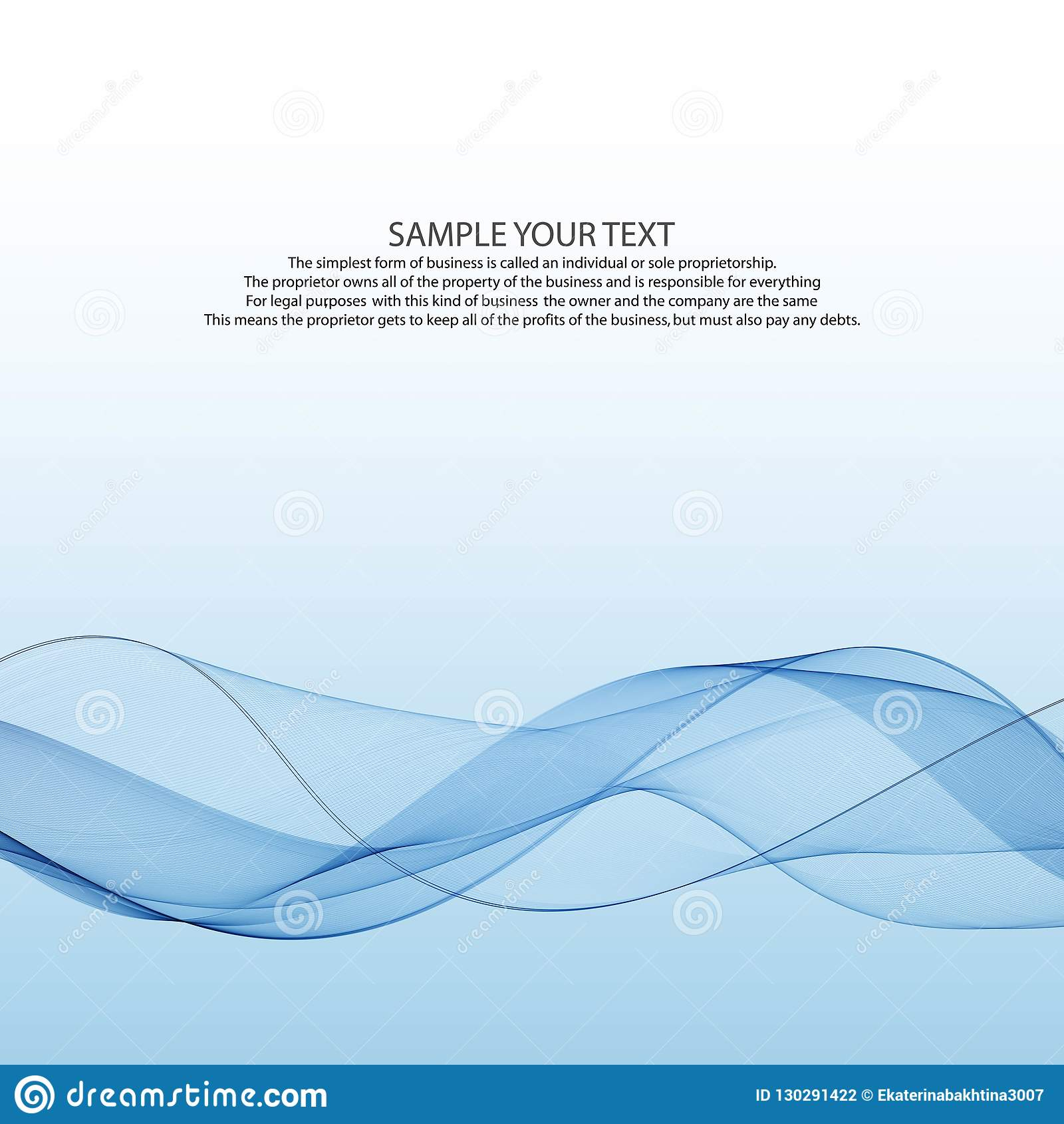 Ligne bleue de fumée de vent de bruissement de vitesse transparente graphique bien aérée élégante abstraite lumineuse moderne de