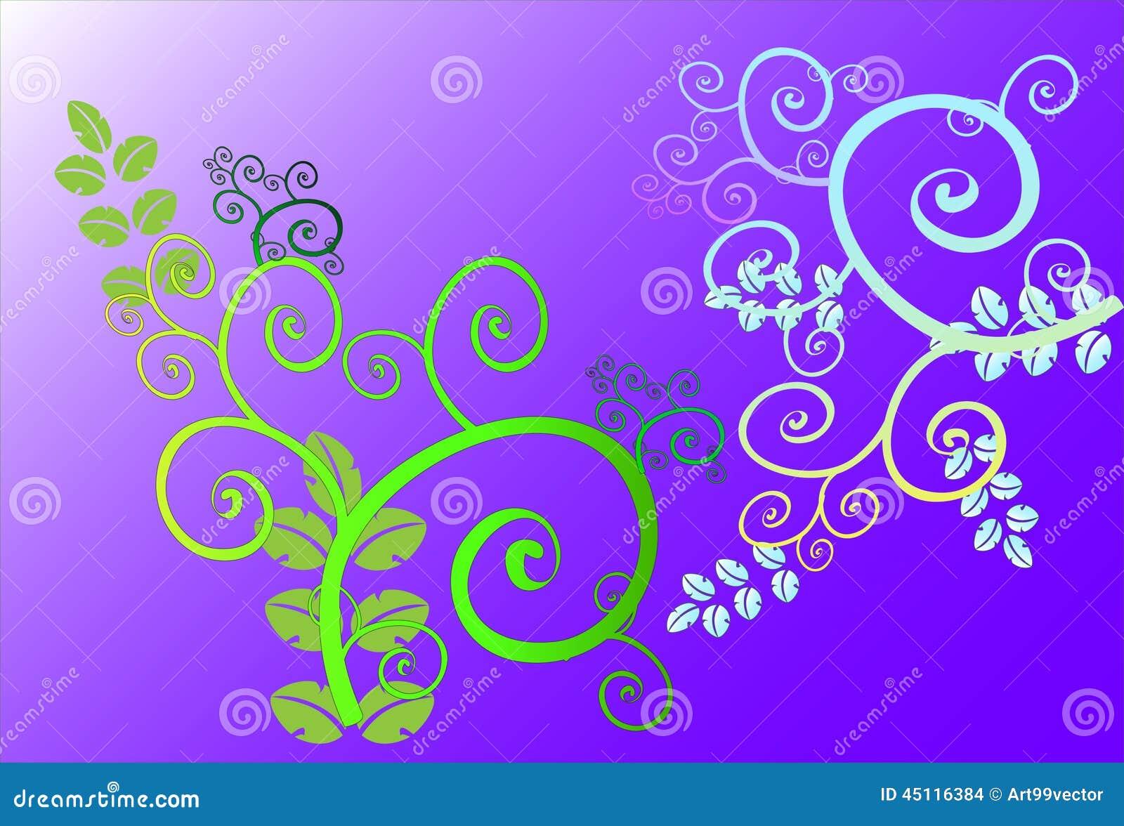 Ligne d 39 art de fleur illustration stock image 45116384 - Photographie d art en ligne ...