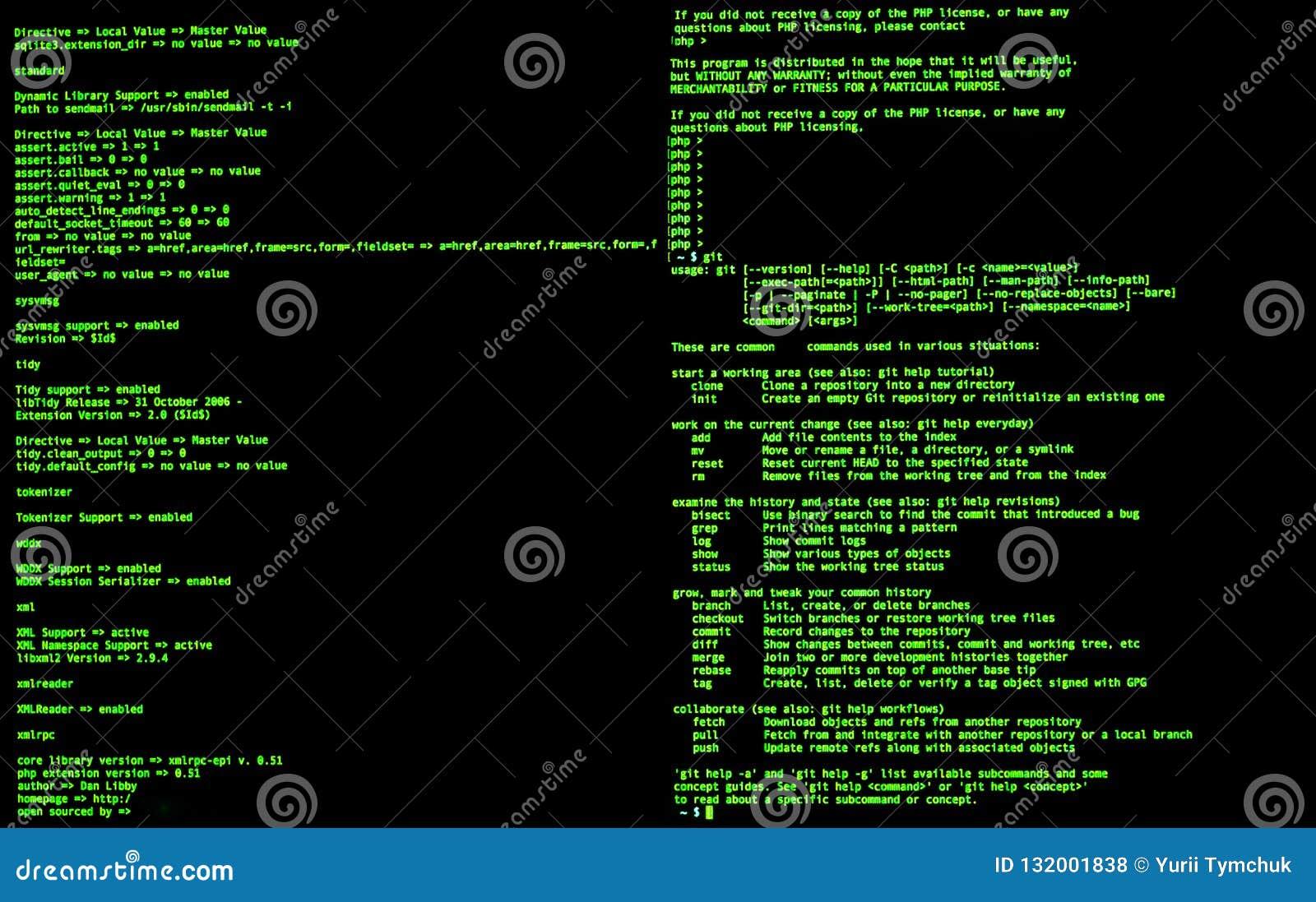 Ligne de commande interface, vue de face, commande terminale, cli Coquille de coup d UNIX