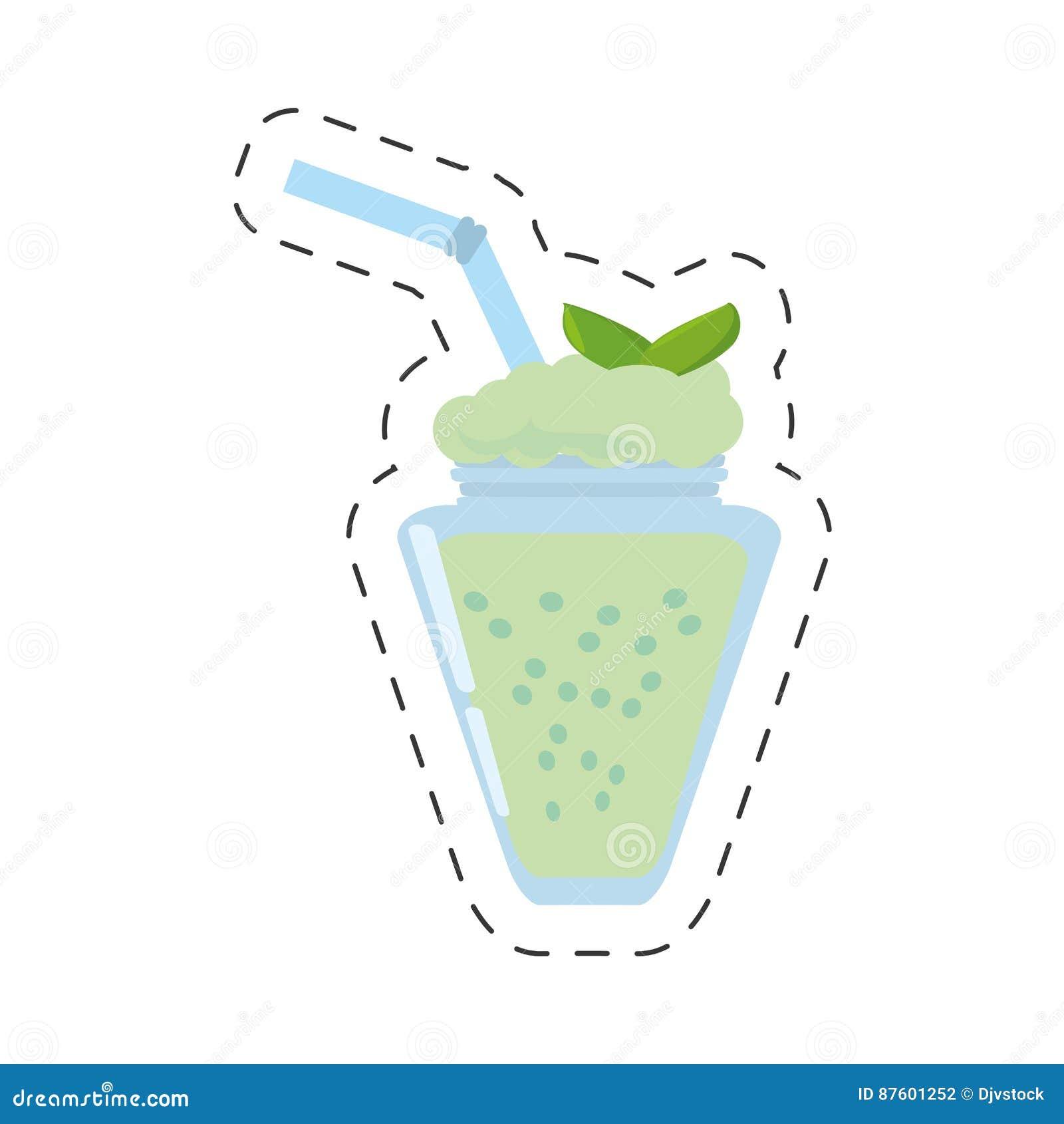 Ligne de coupe fraîche en bon état de boissons de smoothie