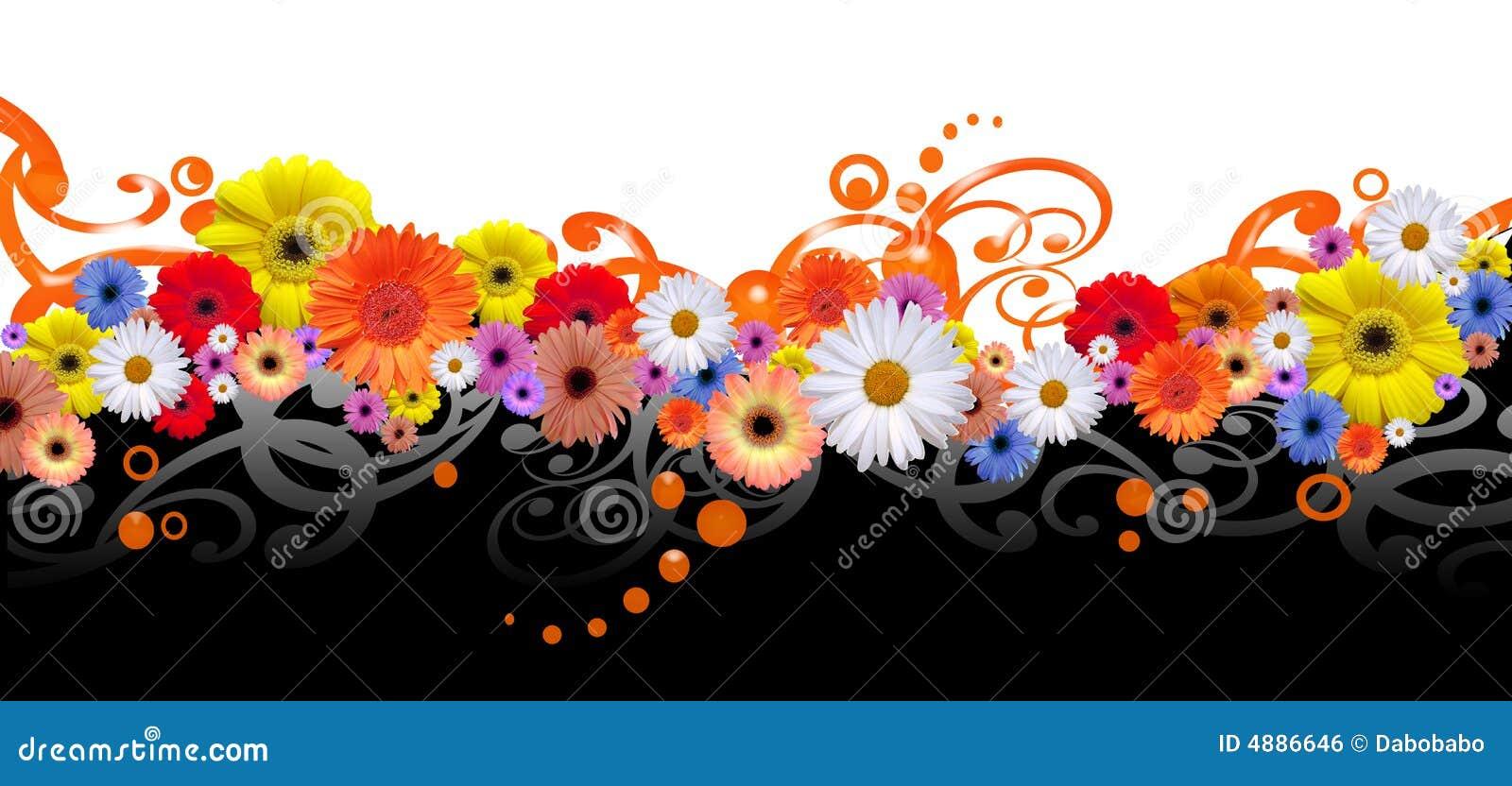 Ligne de fleur