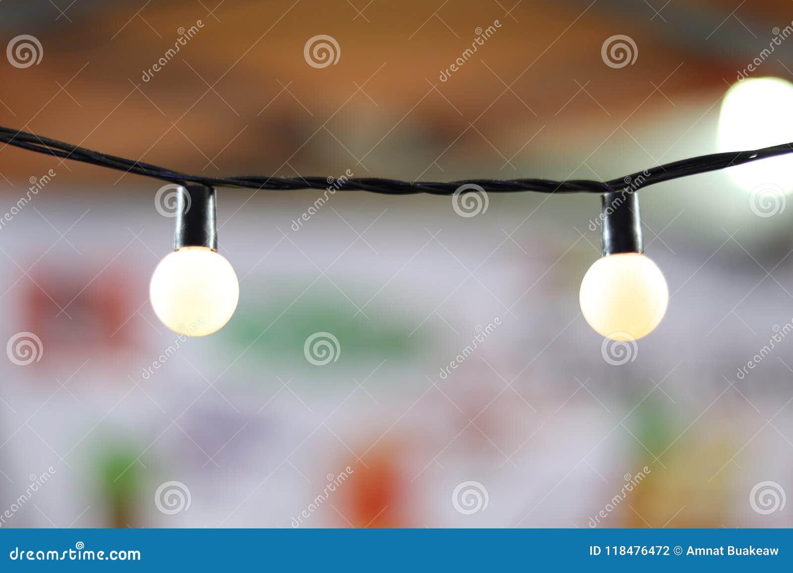 Ligne de lampe, pièce légère de bureau de décoration de boule de sphère, lumière électrique pour la partie de décoration, s allum