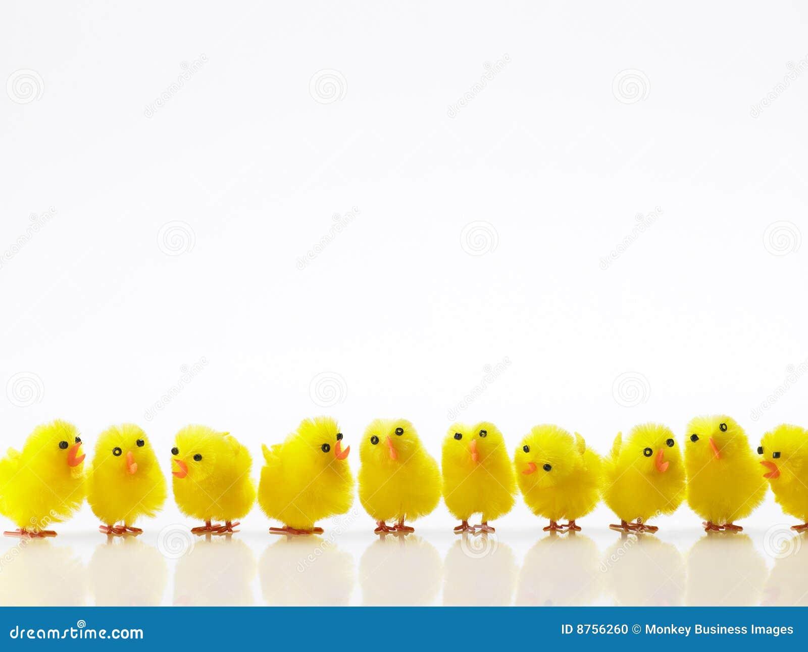 Ligne de Pâques de nanas