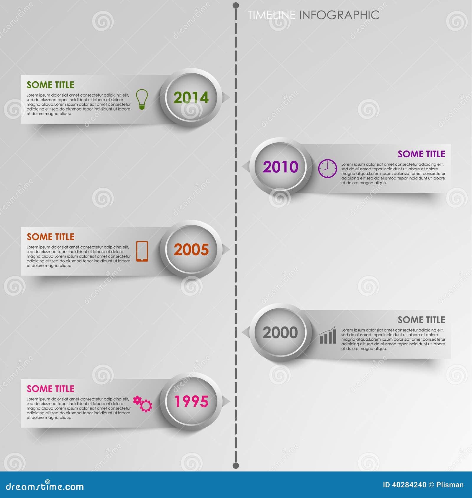 ligne de temps graphique d 39 infos fond ray illustration de vecteur image 40284240. Black Bedroom Furniture Sets. Home Design Ideas