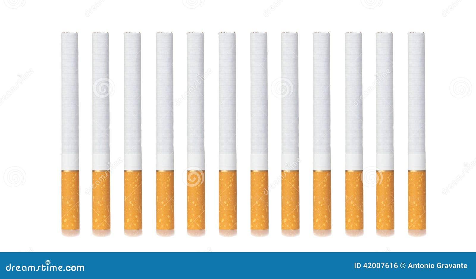 Ligne des cigarettes