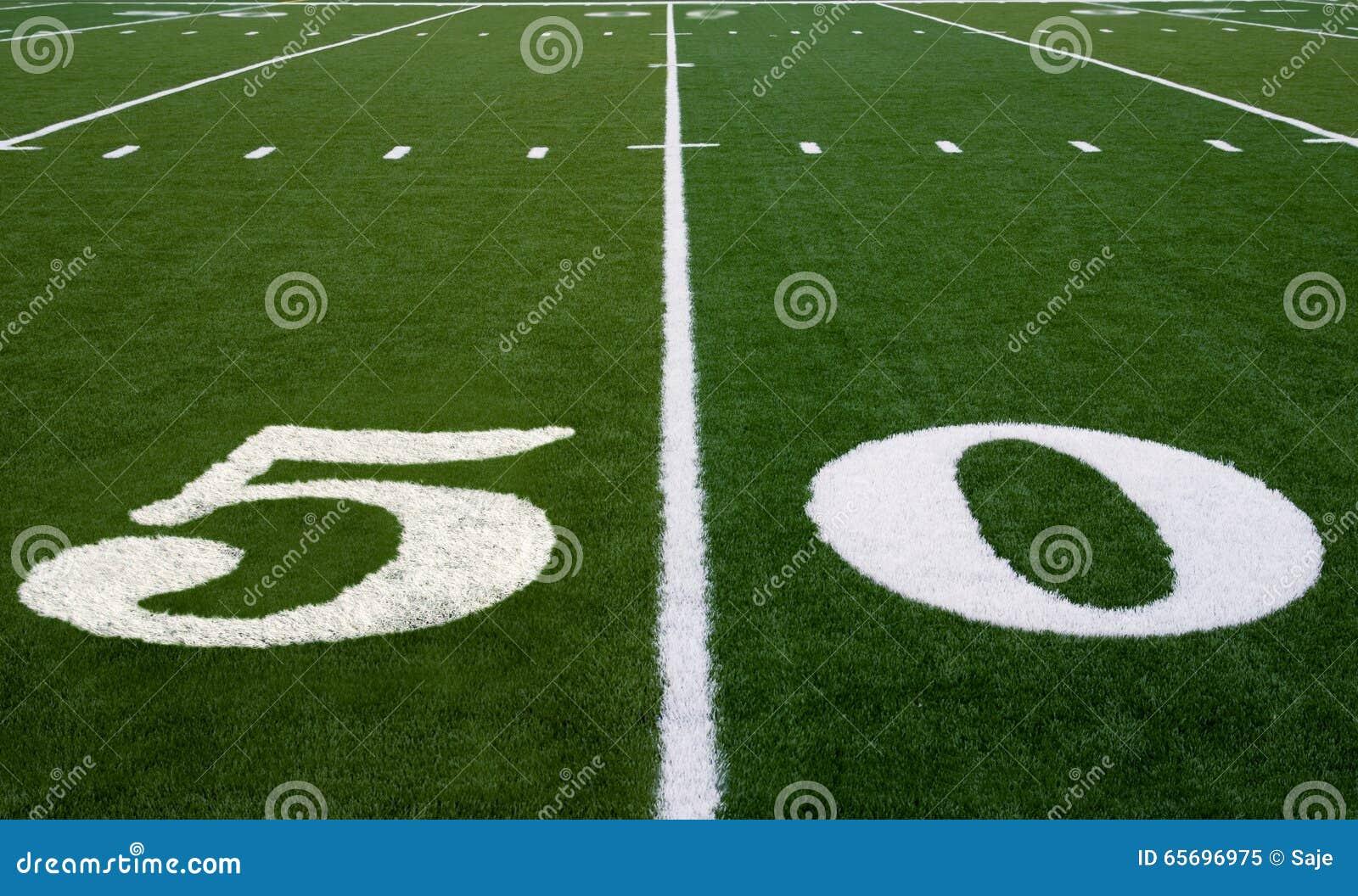 Ligne du terrain de football 50