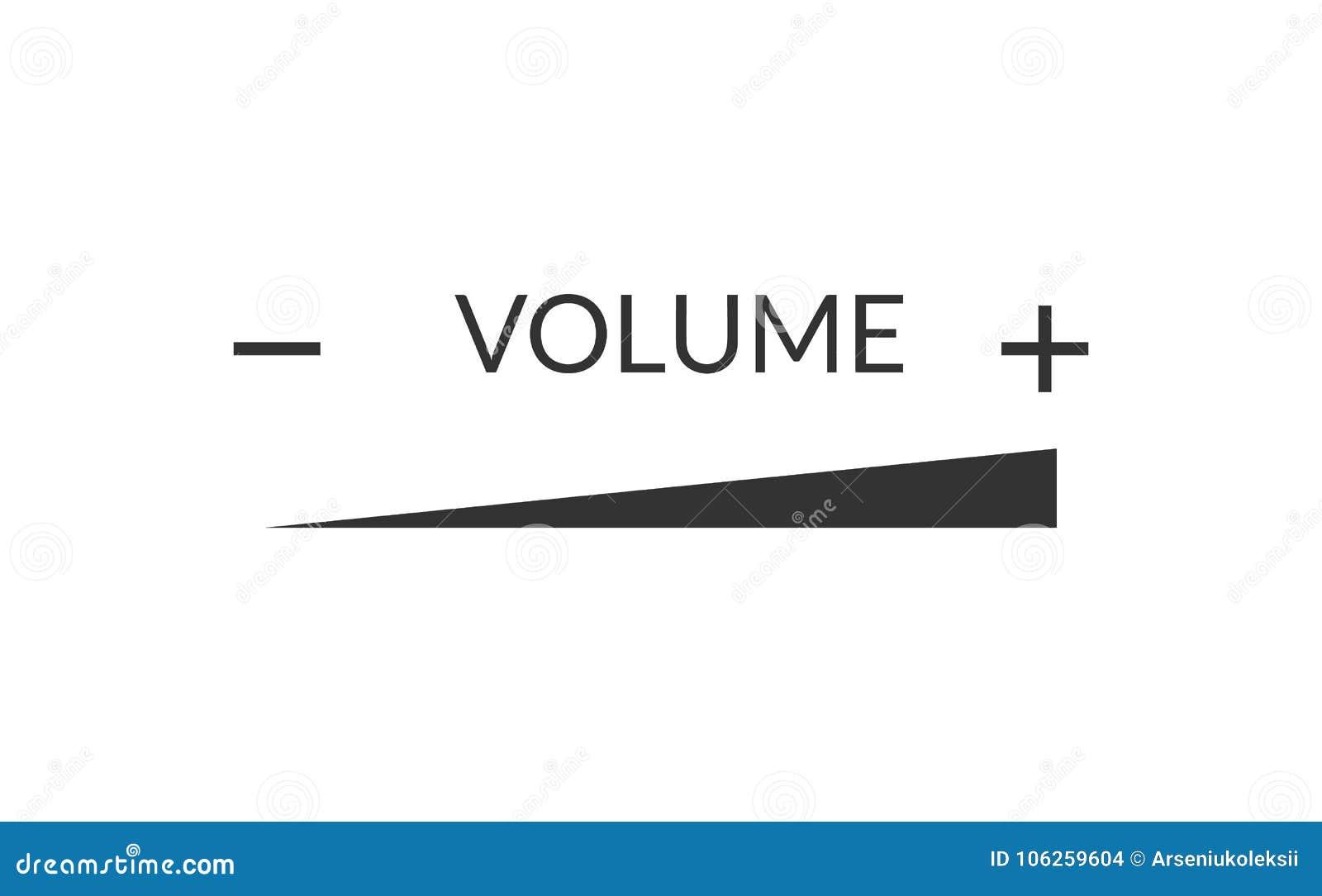Ligne en hausse de volume de volume