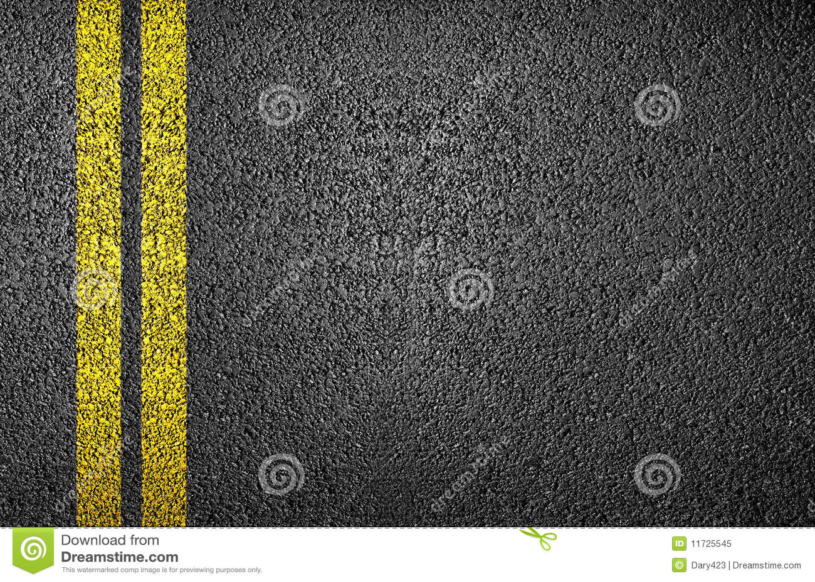 ligne jaune sur l 39 asphalte photo libre de droits image 11725545. Black Bedroom Furniture Sets. Home Design Ideas