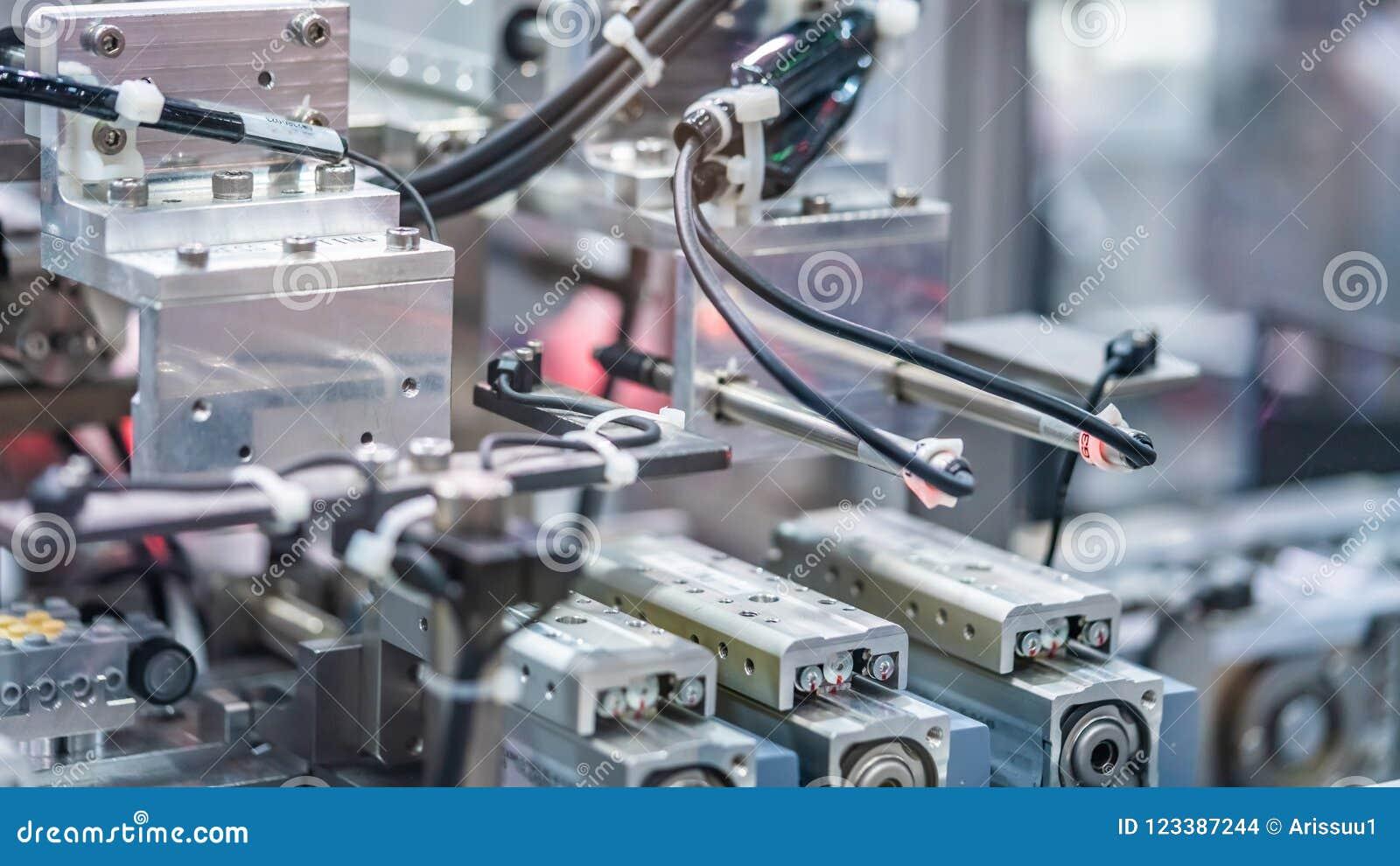 Ligne mécanique industrielle de fabrication de robot