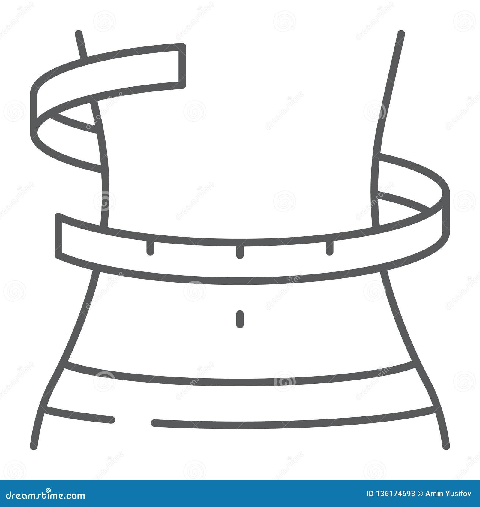 graphique de corps de perte de poids