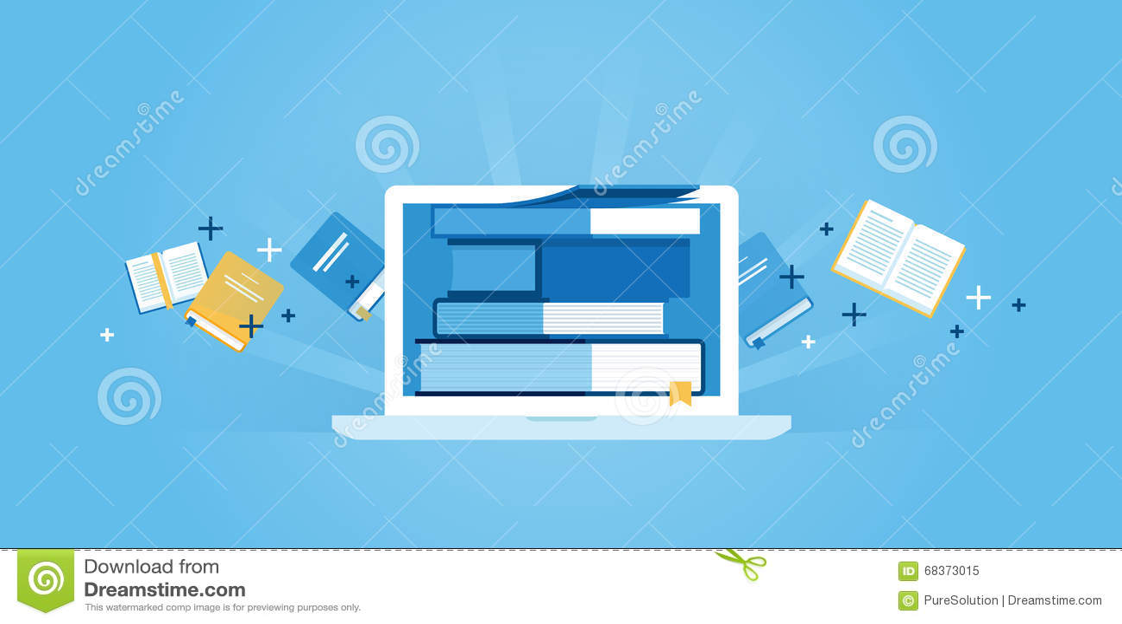 Ligne plate banni re de site web de conception d for Conception de plan en ligne