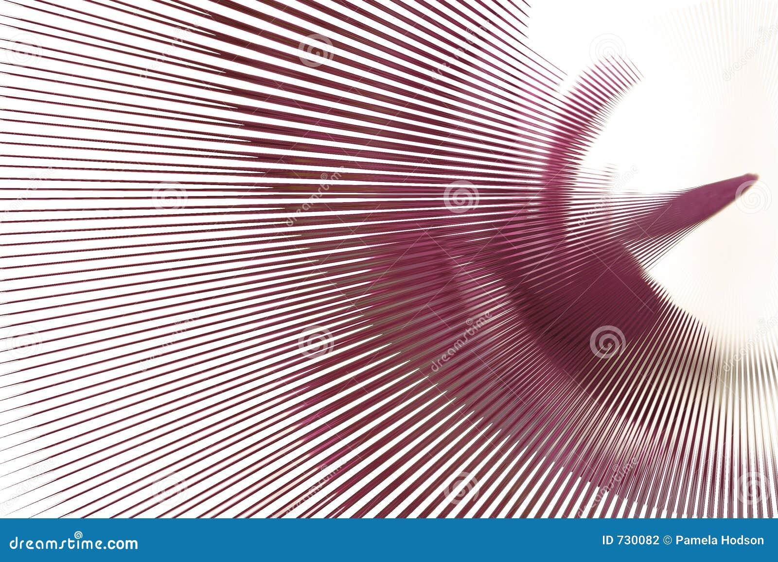 Ligne rose abstrait