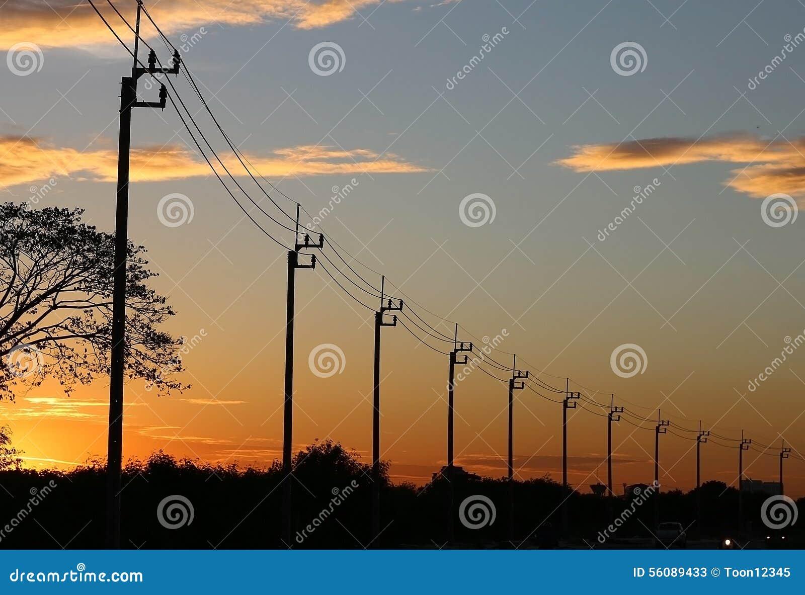 Lignes électriques de l électricité