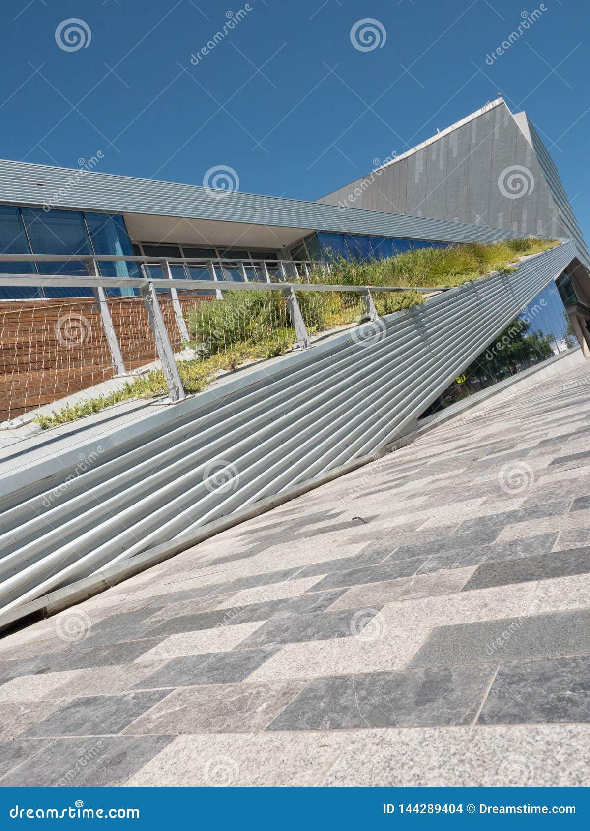Lignes de perspective de la structure