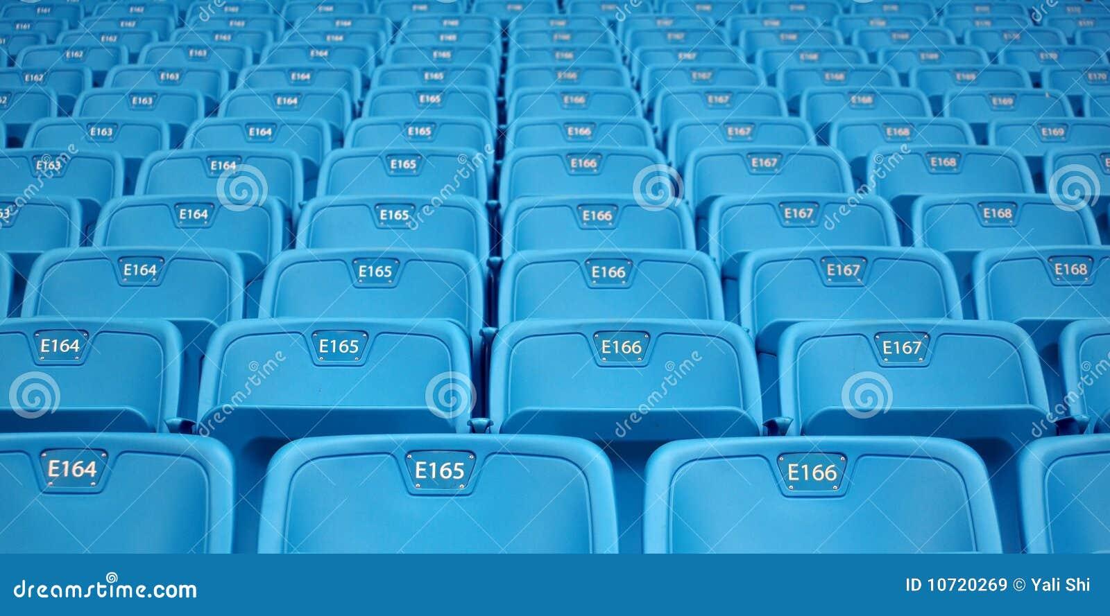 Lignes des sièges d Emtpy