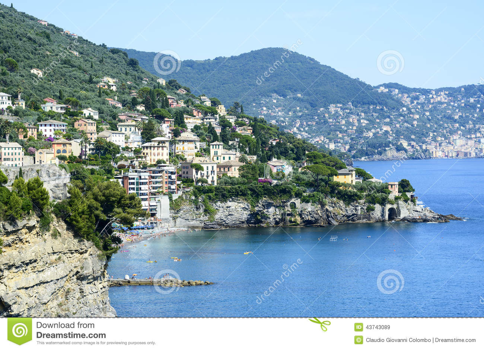 Ligurien, Riviera di Levante