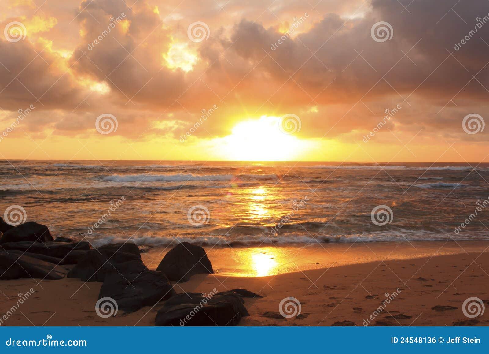 Lihue wschód słońca