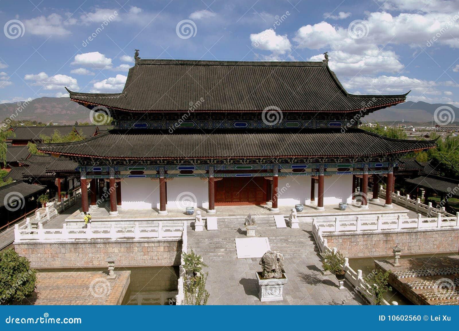 Lijiang, China: Huis van Mu