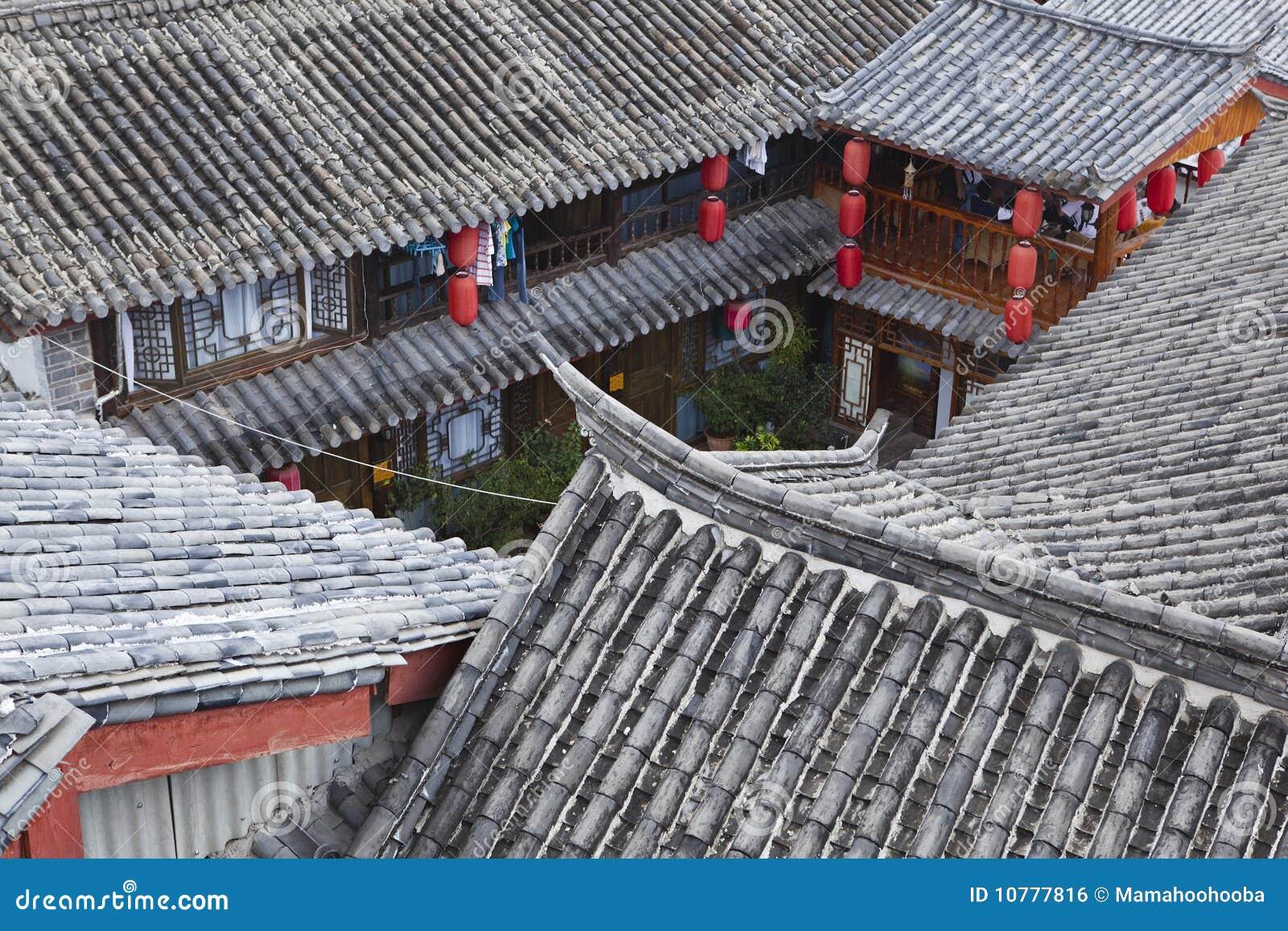 Lijiang: traditionele Chinese huizen