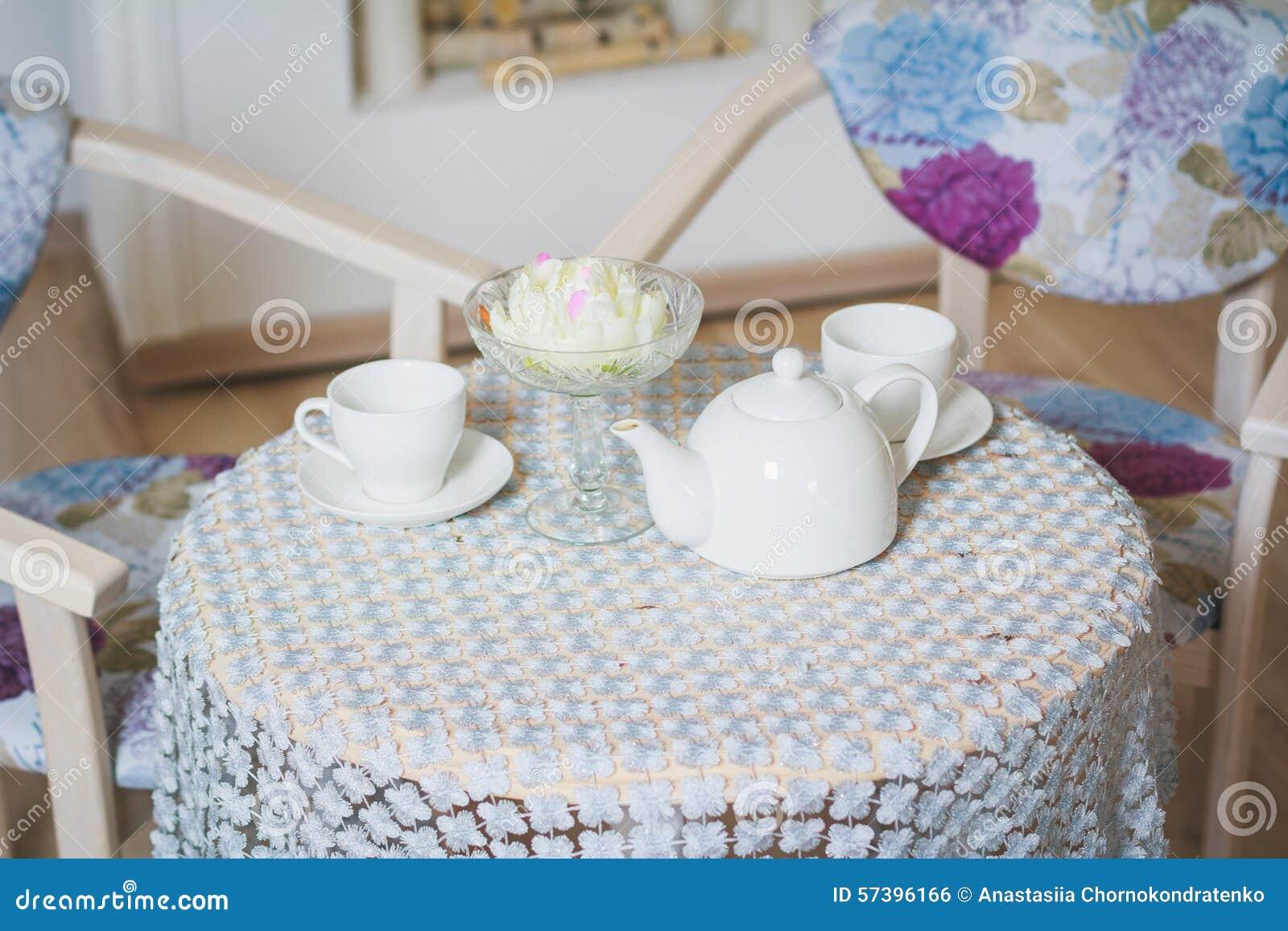 Lijst om thee te drinken