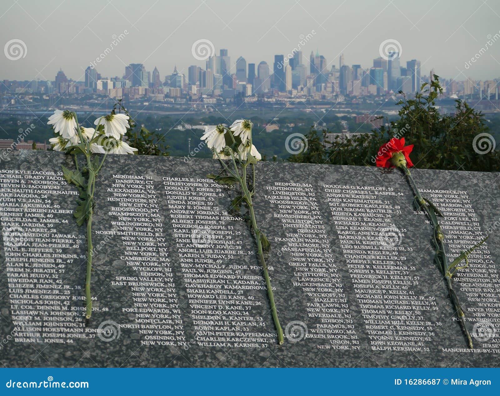 Lijst van Slachtoffers vanaf 11 Sept., 2001