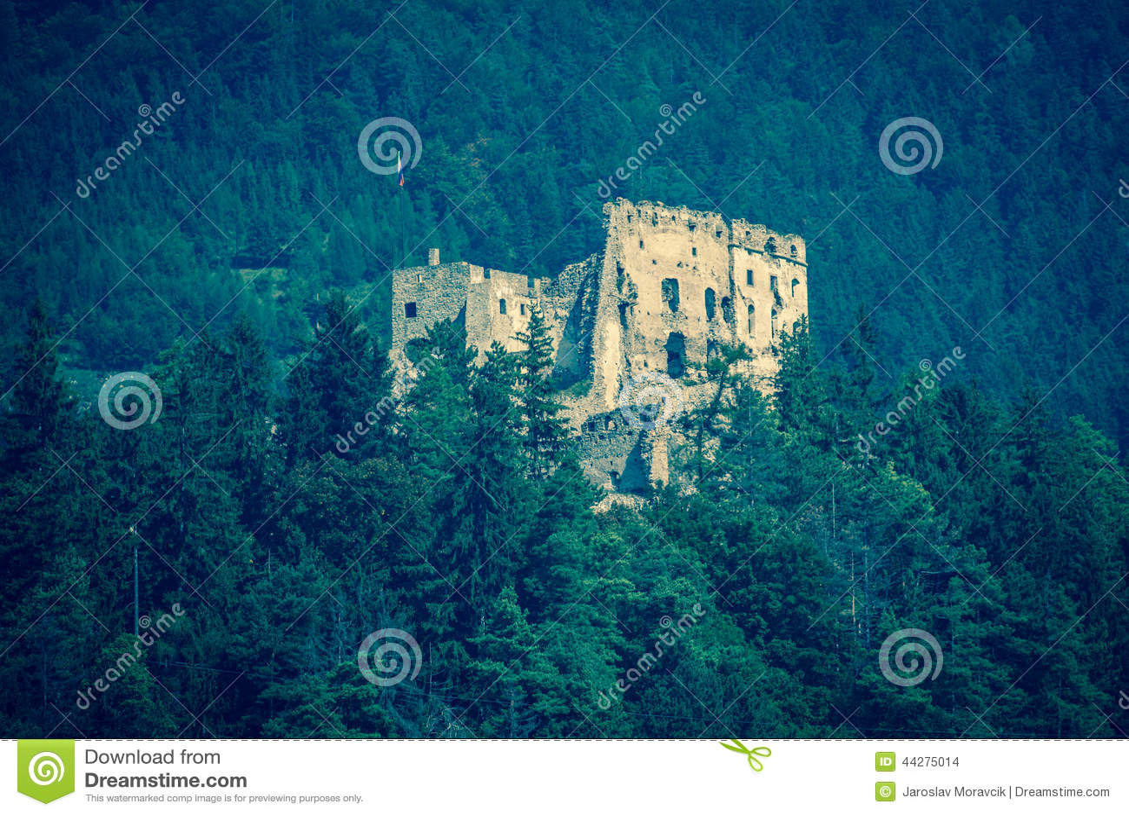 Likava城堡,斯洛伐克