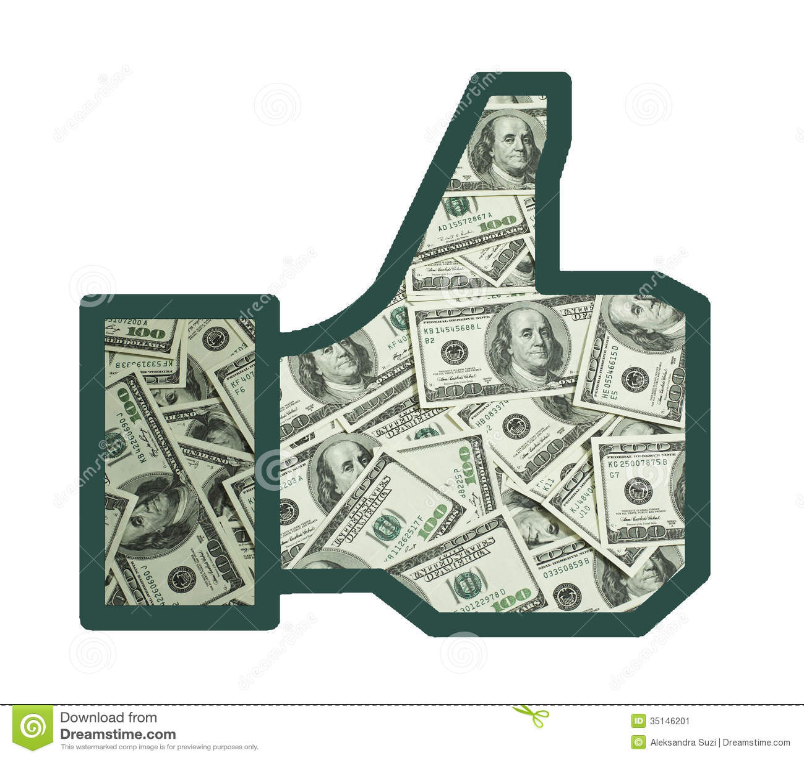 Like Of Money Stock Image Image 35146201
