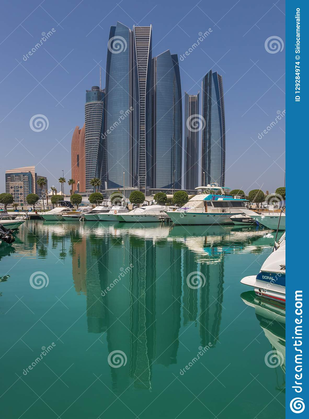 Abu Dhabi: a view from the roof