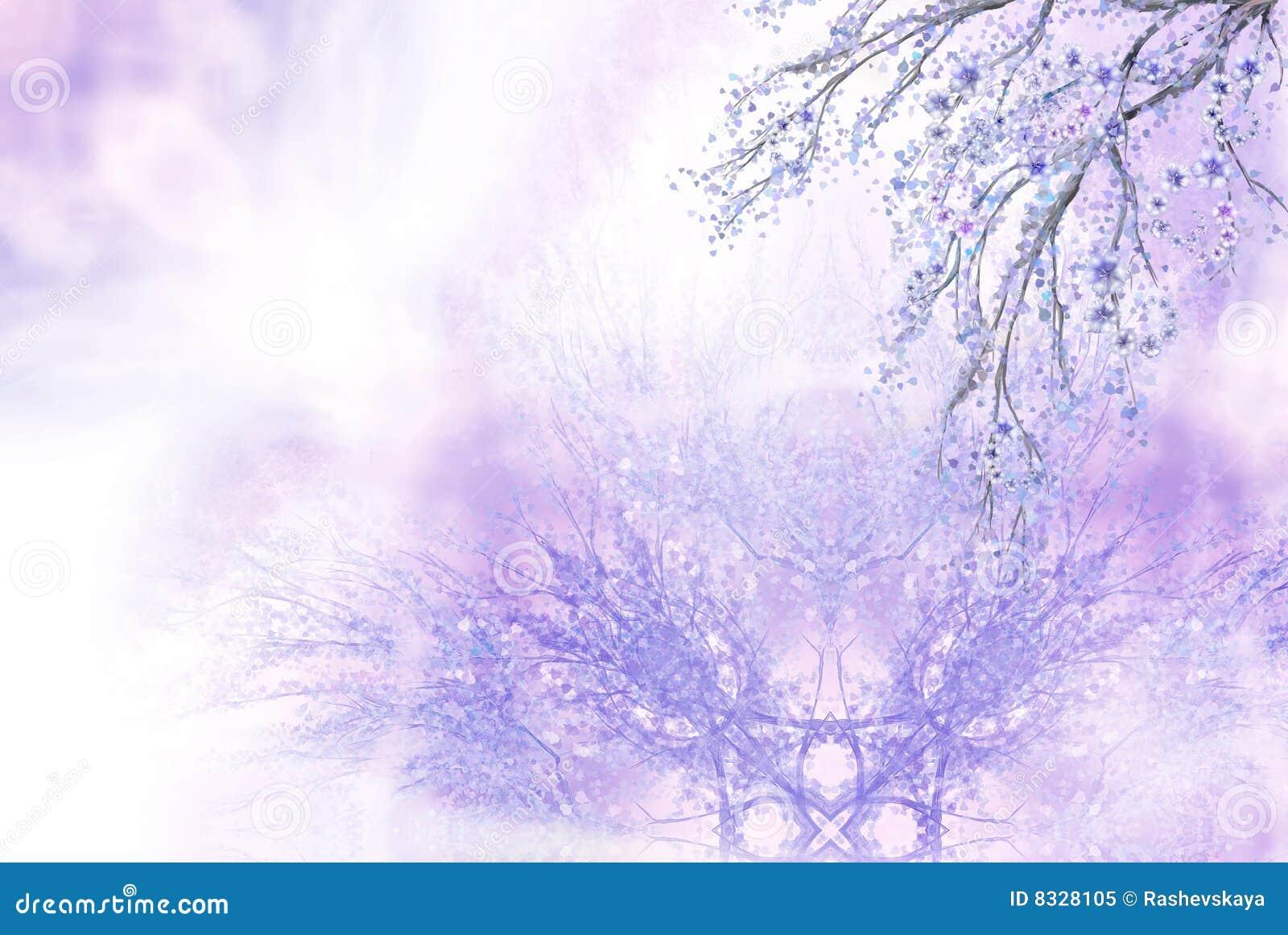 Lilac de lenteachtergrond