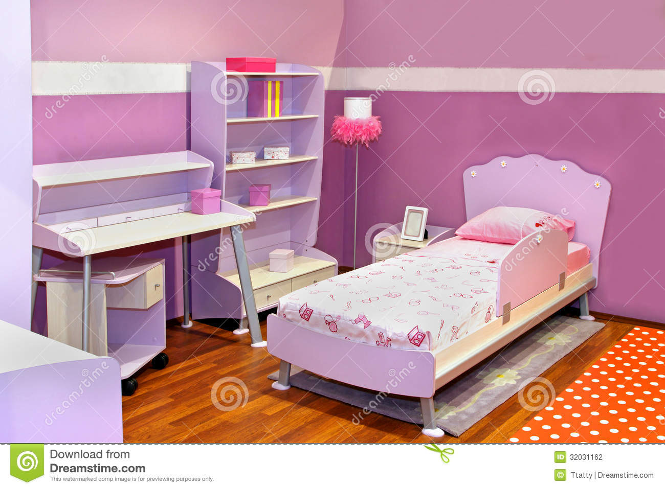 Lilac Bedroom Lilac Bedroom Stock Image Image 24078691