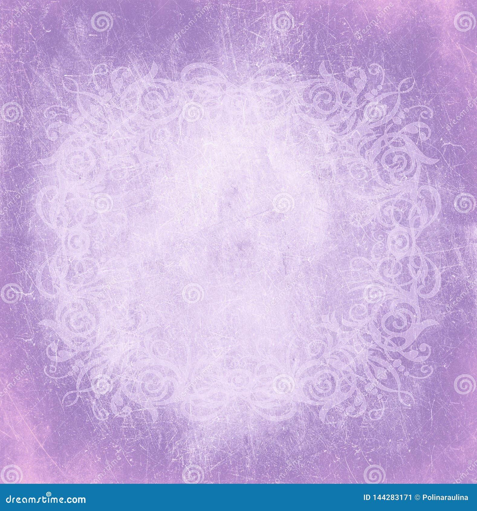 Lilac Purple Gothic Vignette Modern Fashion Beauty Royal