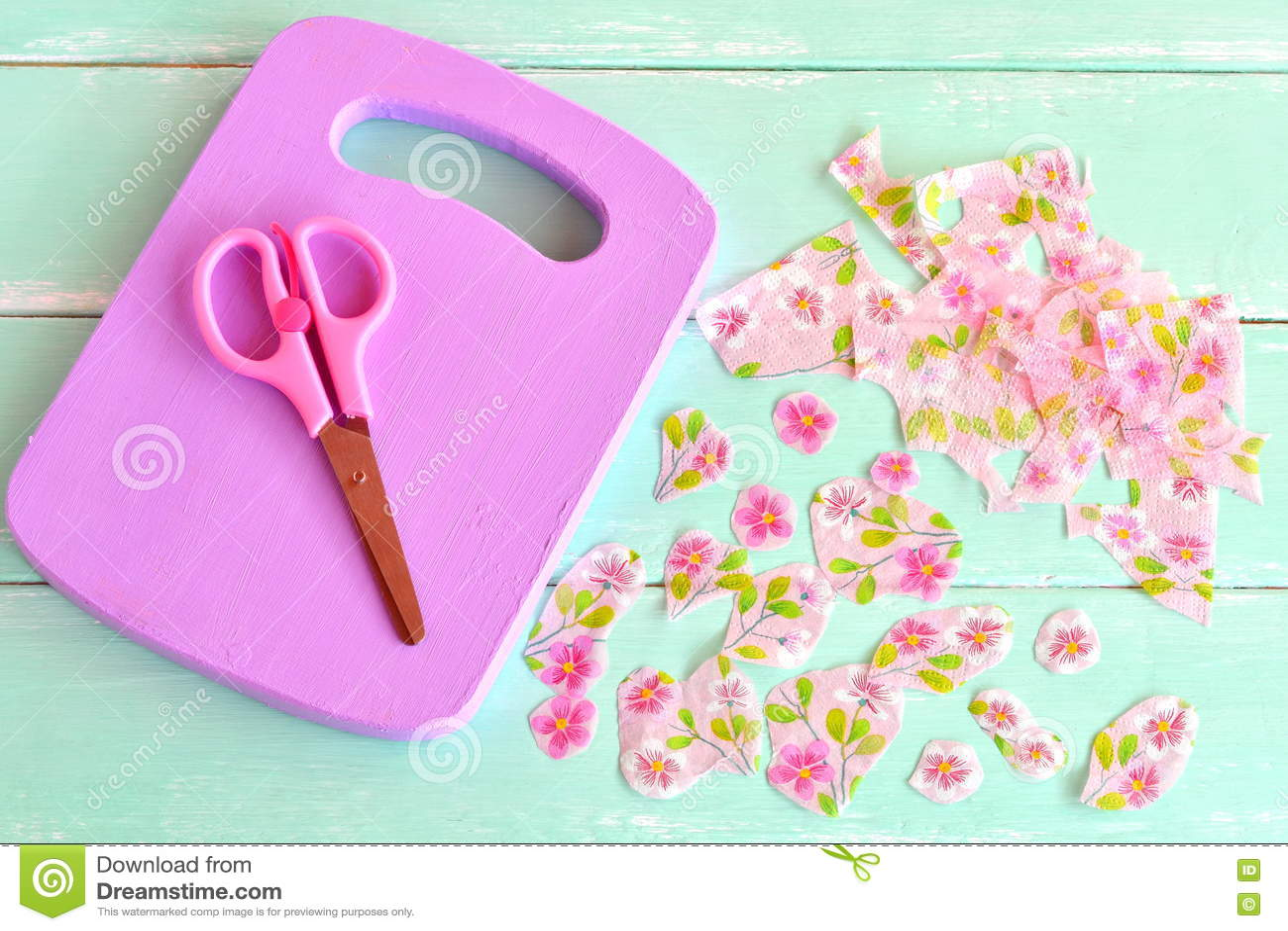 Lilac Wooden Cutting Board Home Made Chopping Board Kitchen Decor