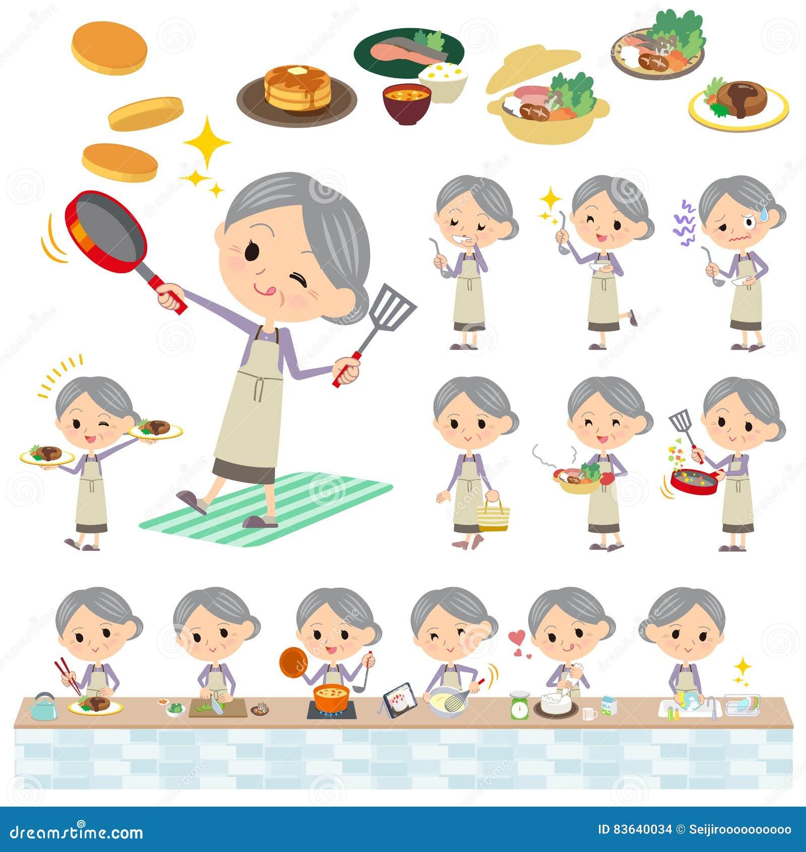 Lilan beklär farmormatlagning