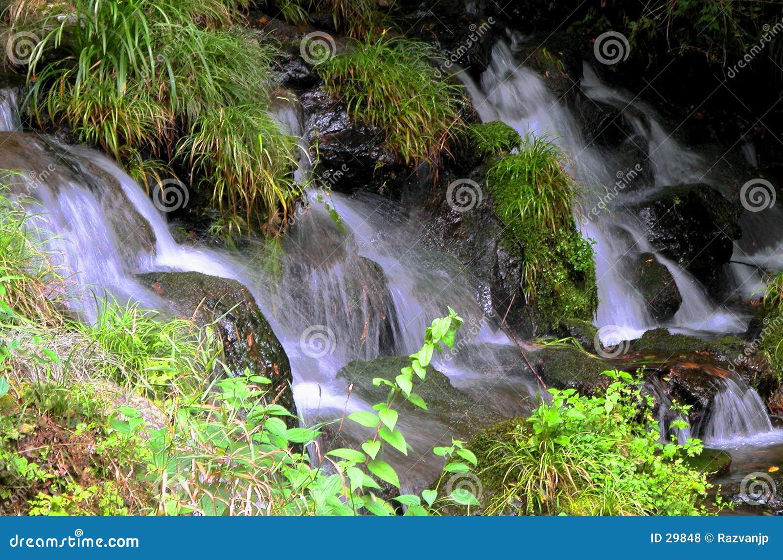 Lilla vattenfall